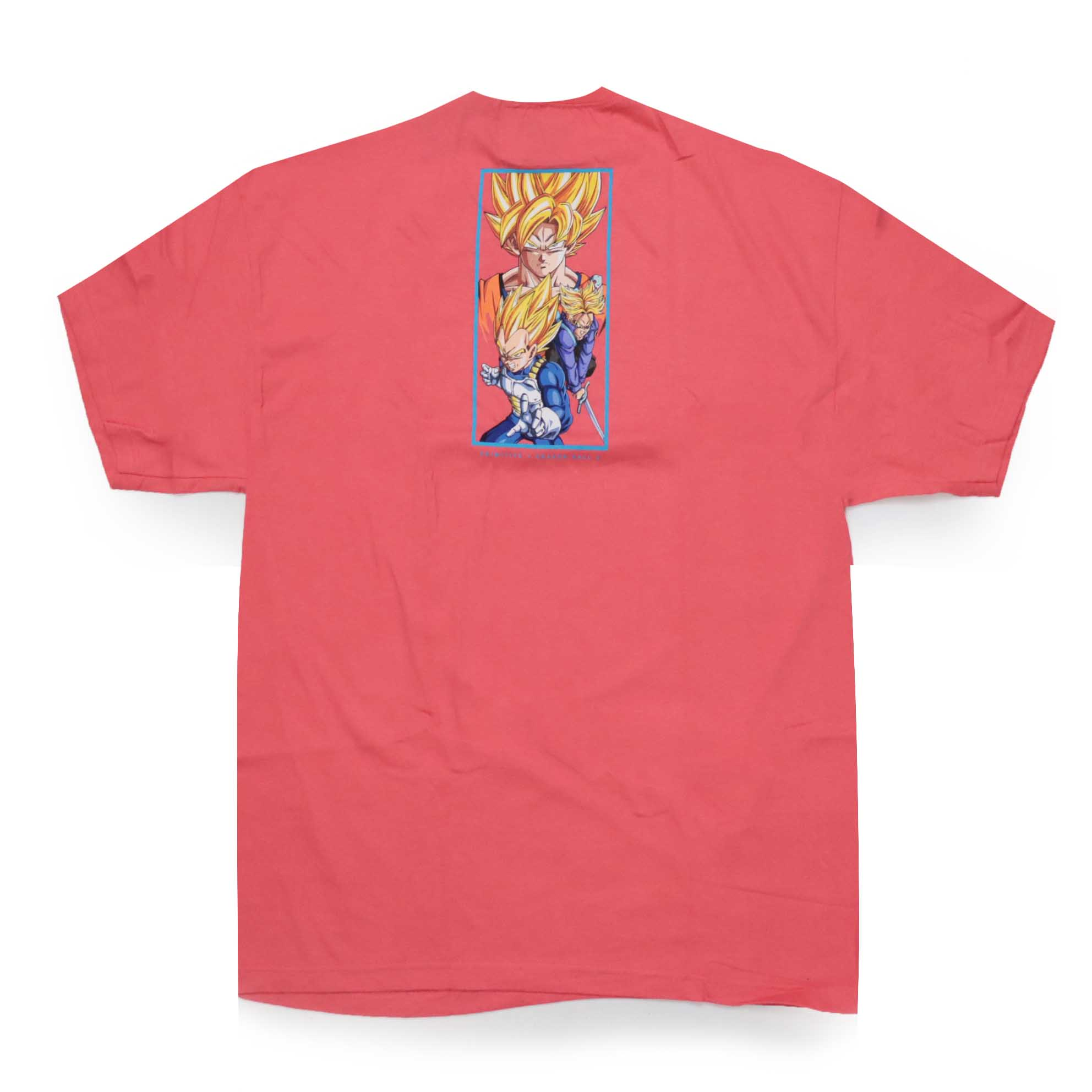 Camiseta Primitive x Dragon Ball Dirty P - Coral (Importado)