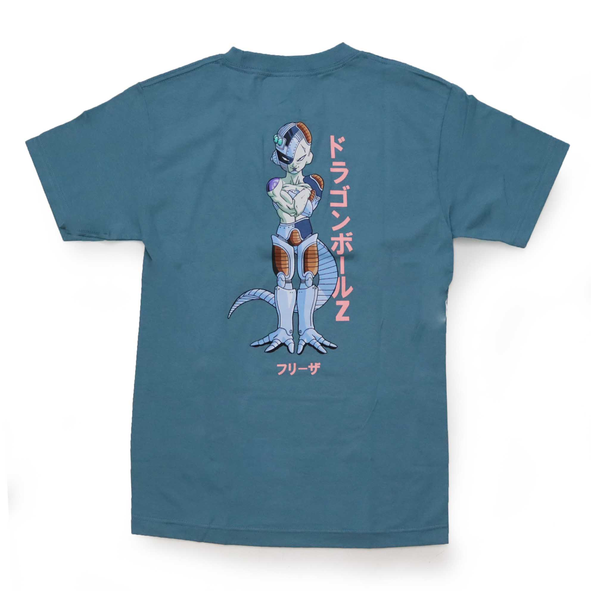 Camiseta Primitive x Dragon Ball Freeza Mecha - Azul (Importado)