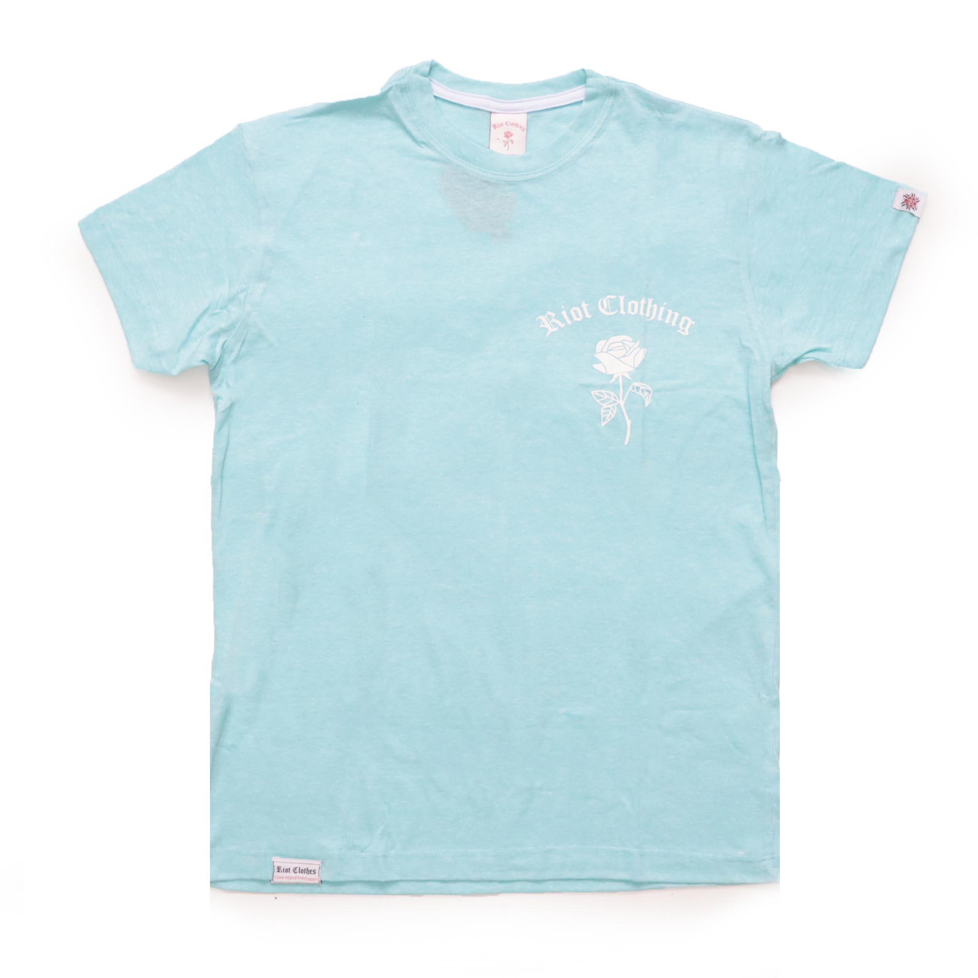 Camiseta Riot EST.2018 - Azul Bebê