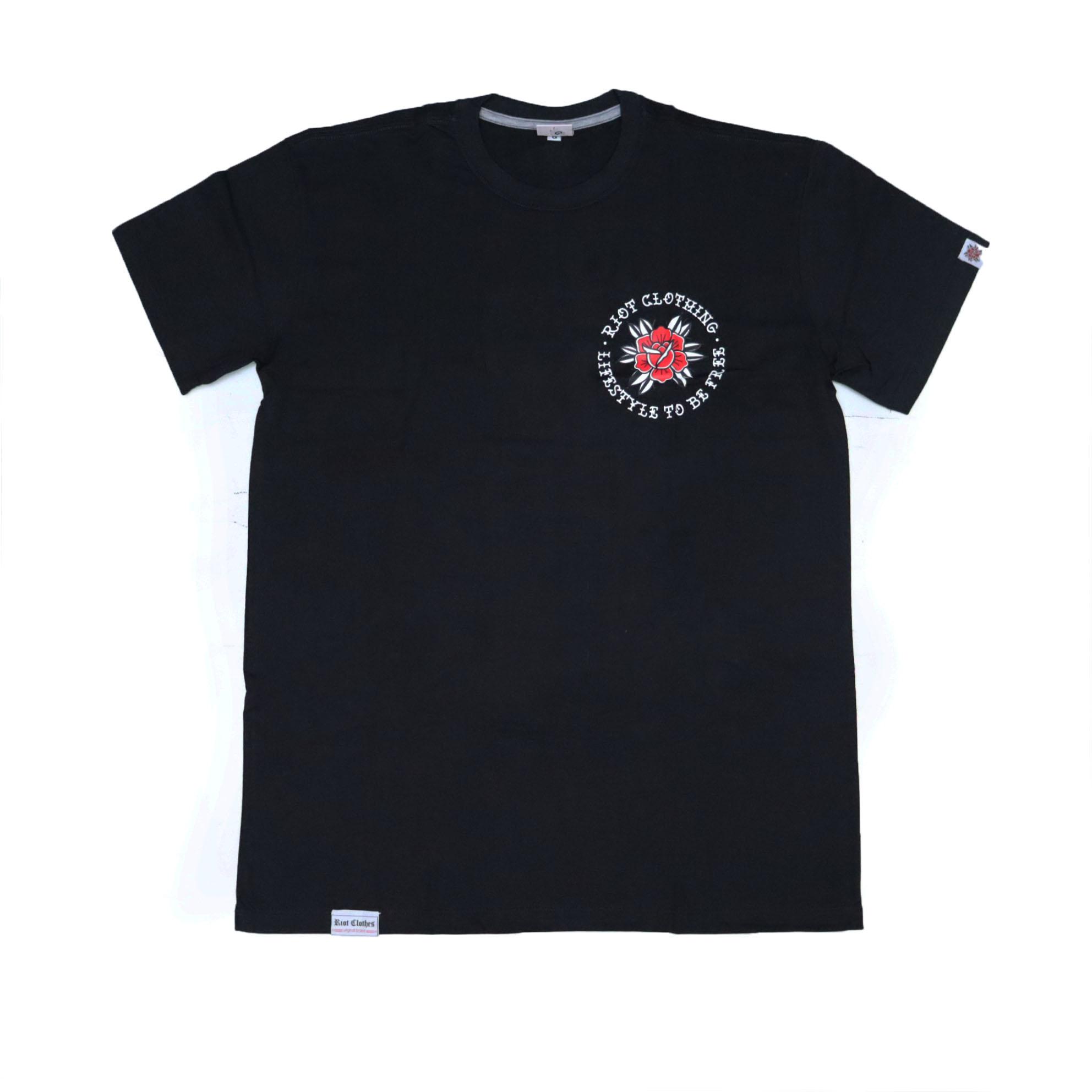 Camiseta Riot Lifestyle - Preto