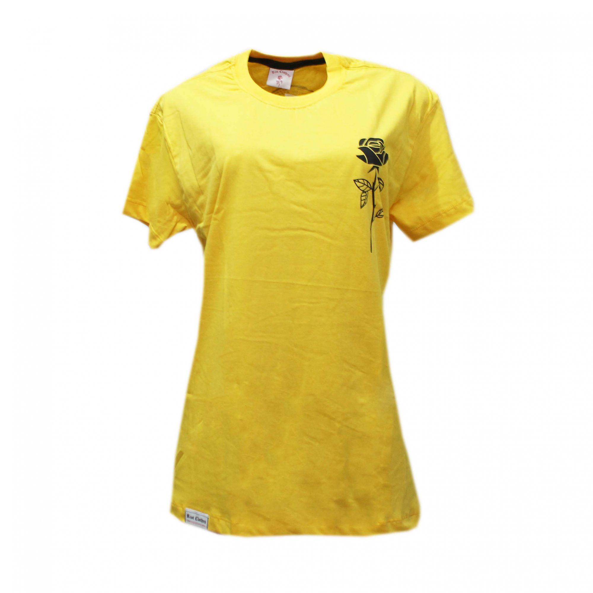 Camiseta Riot Passion Amarelo