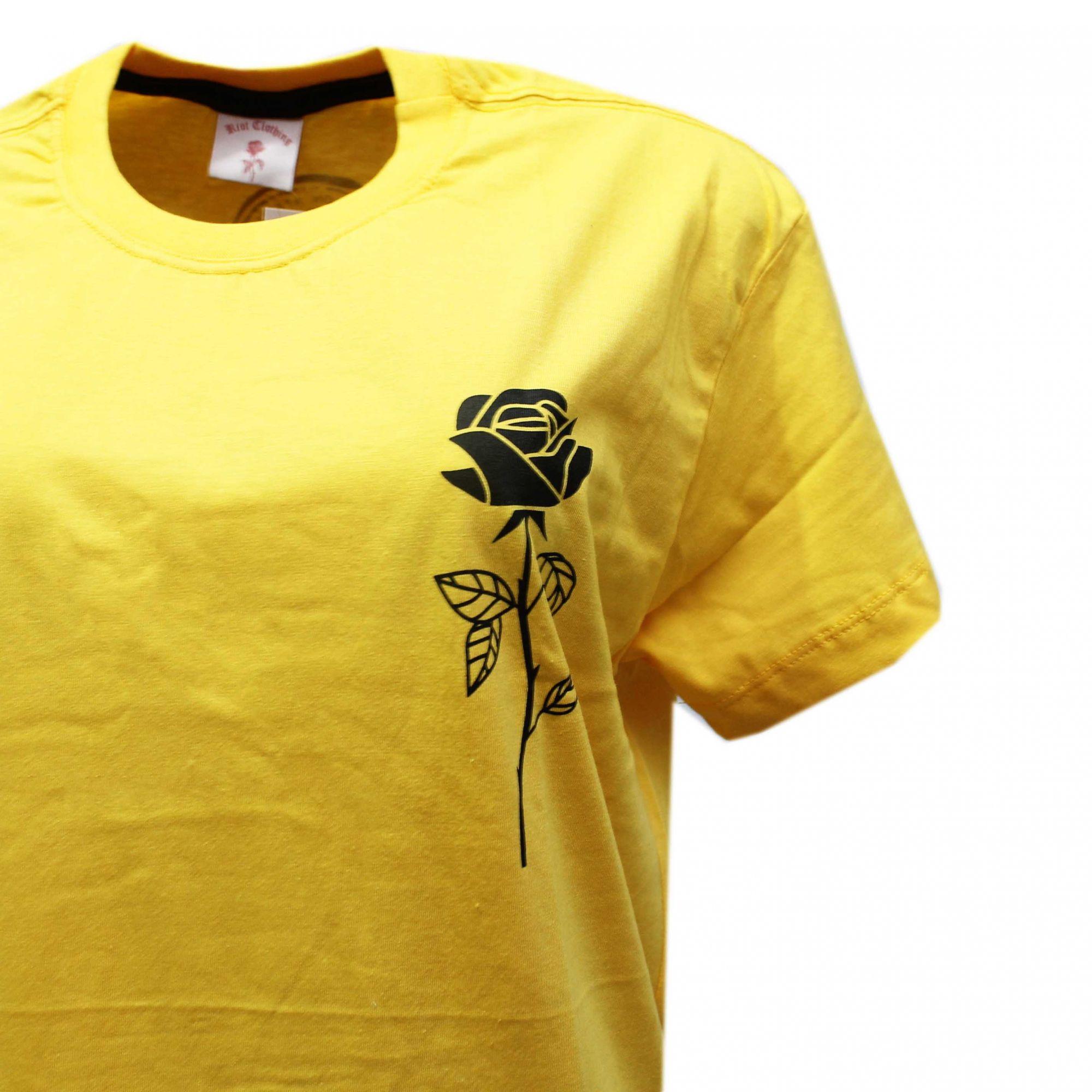 Camiseta Riot Passion - Amarelo