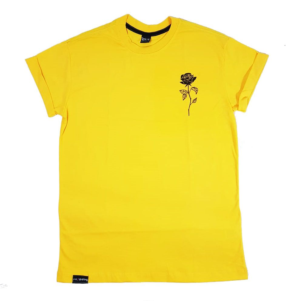 Camiseta Riot Passion Yellow