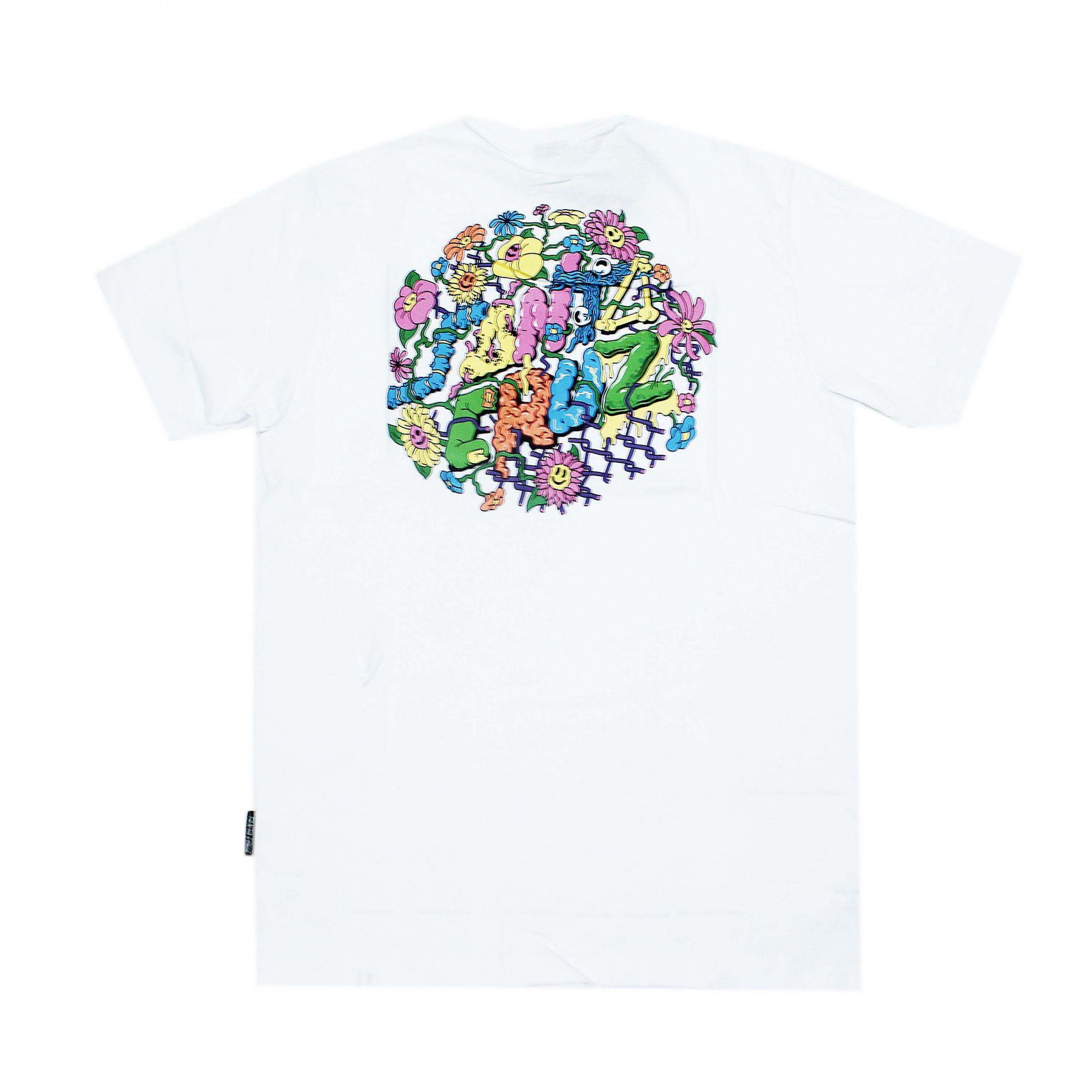 Camiseta Santa Cruz Baked Dot Branco