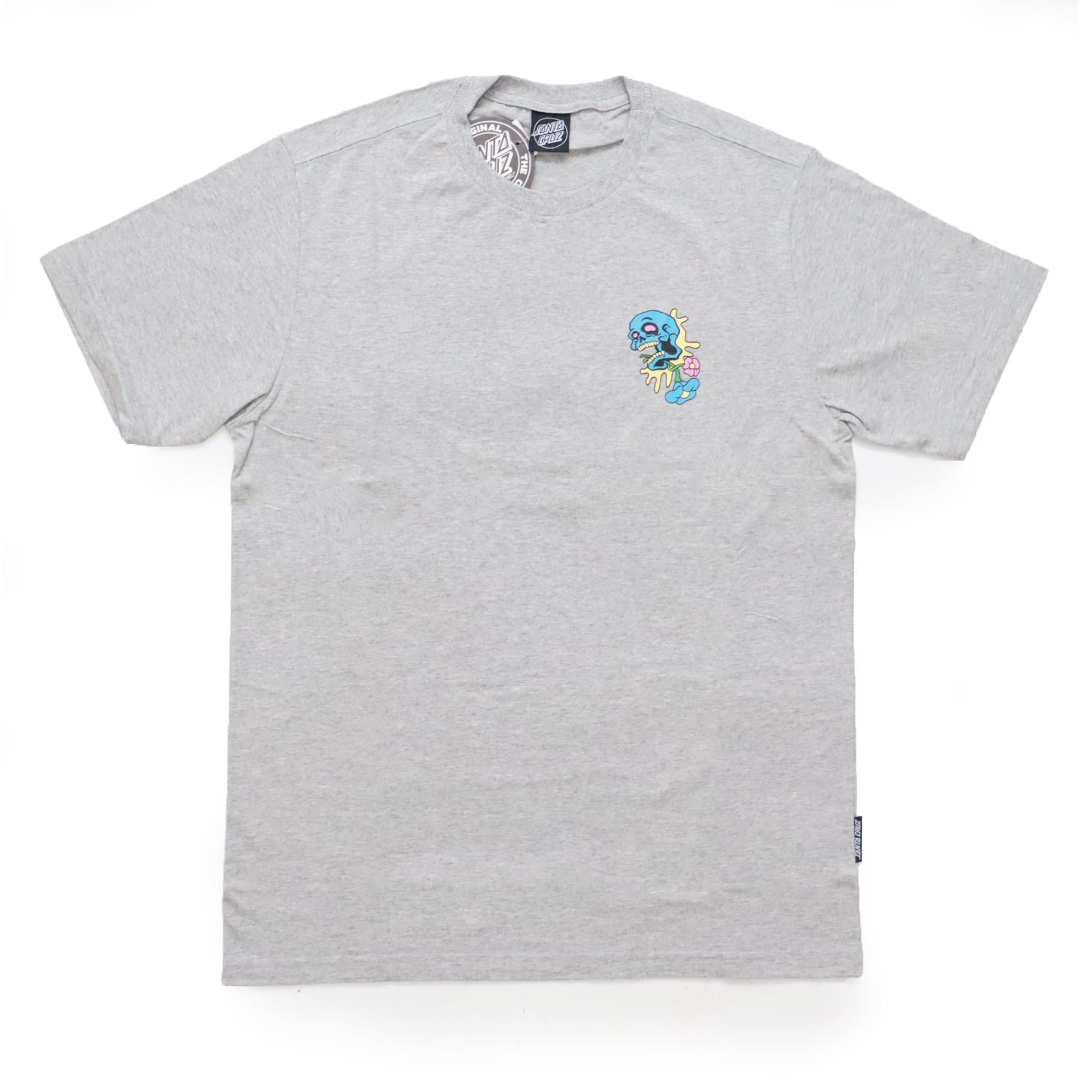 Camiseta Santa Cruz Baked Dot - Cinza Mescla
