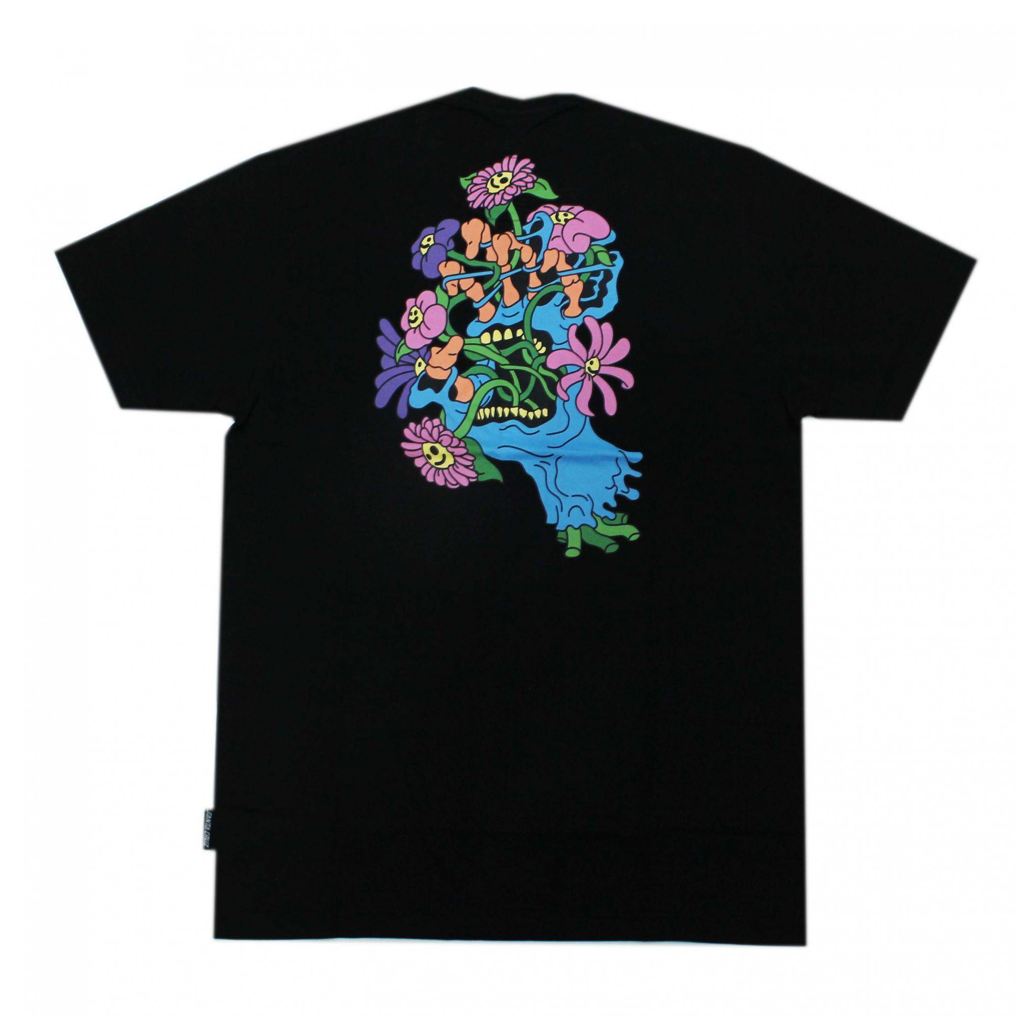 Camiseta Santa Cruz Baked Hand - Preto