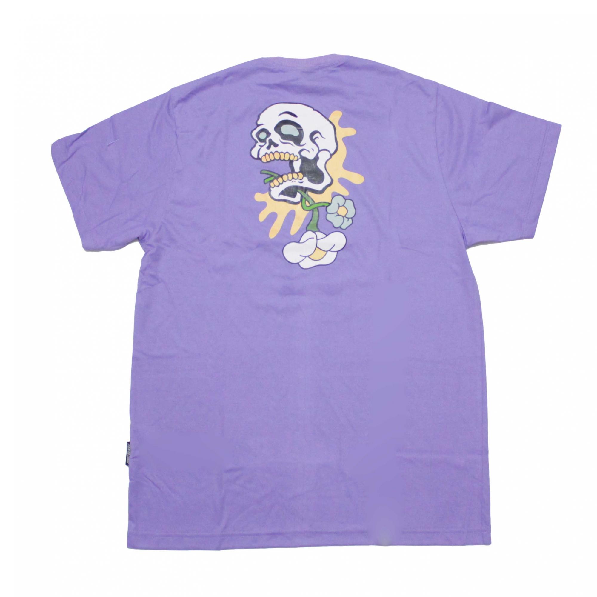 Camiseta Santa Cruz Baked Skull - Lilás