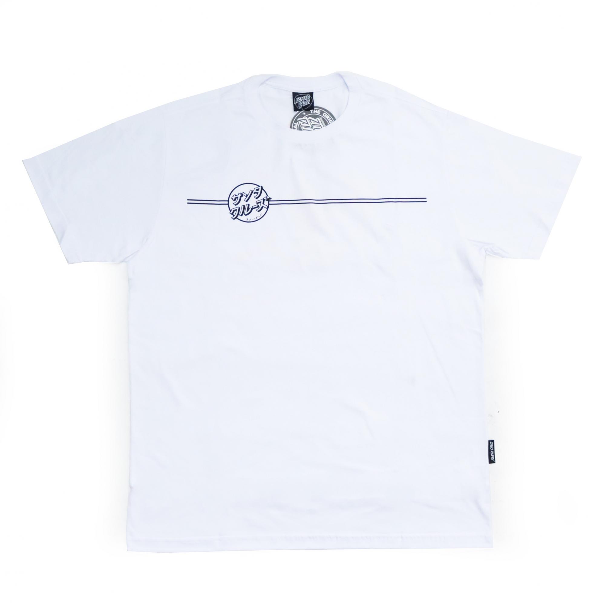 Camiseta Santa Cruz Bogus Hand - Branco