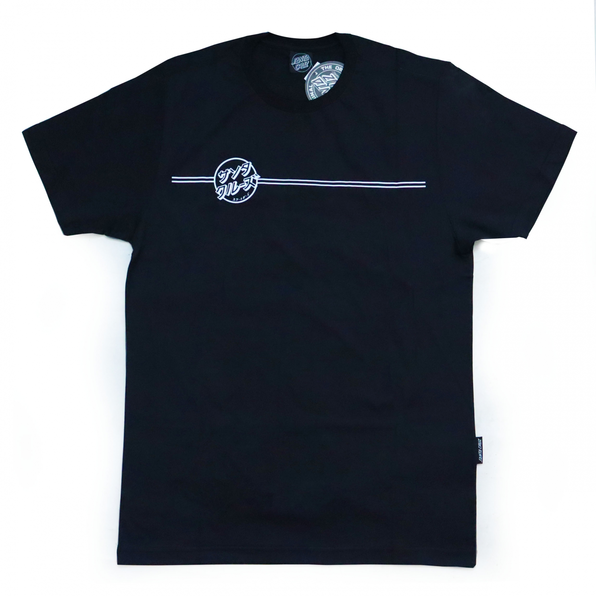 Camiseta Santa Cruz Bogus Hand - Preto