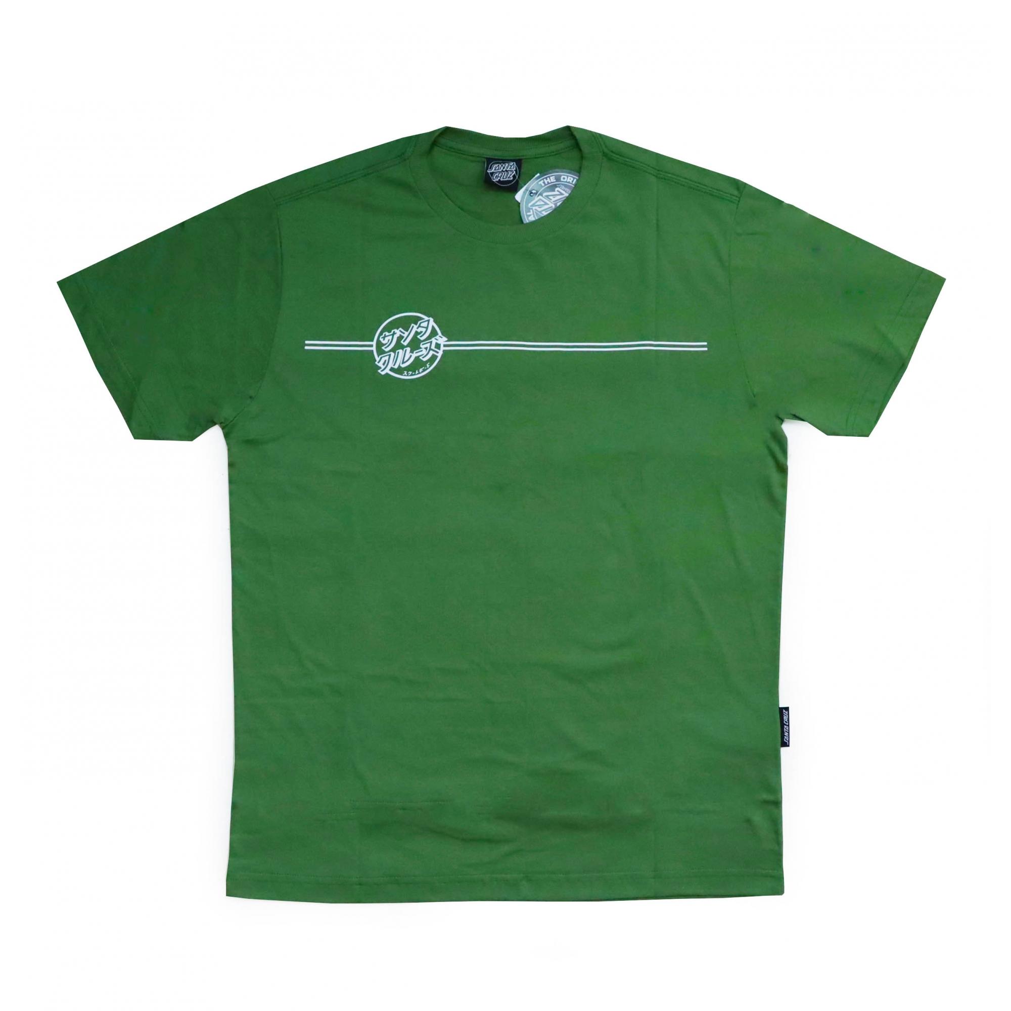 Camiseta Santa Cruz Bogus Hand - Verde