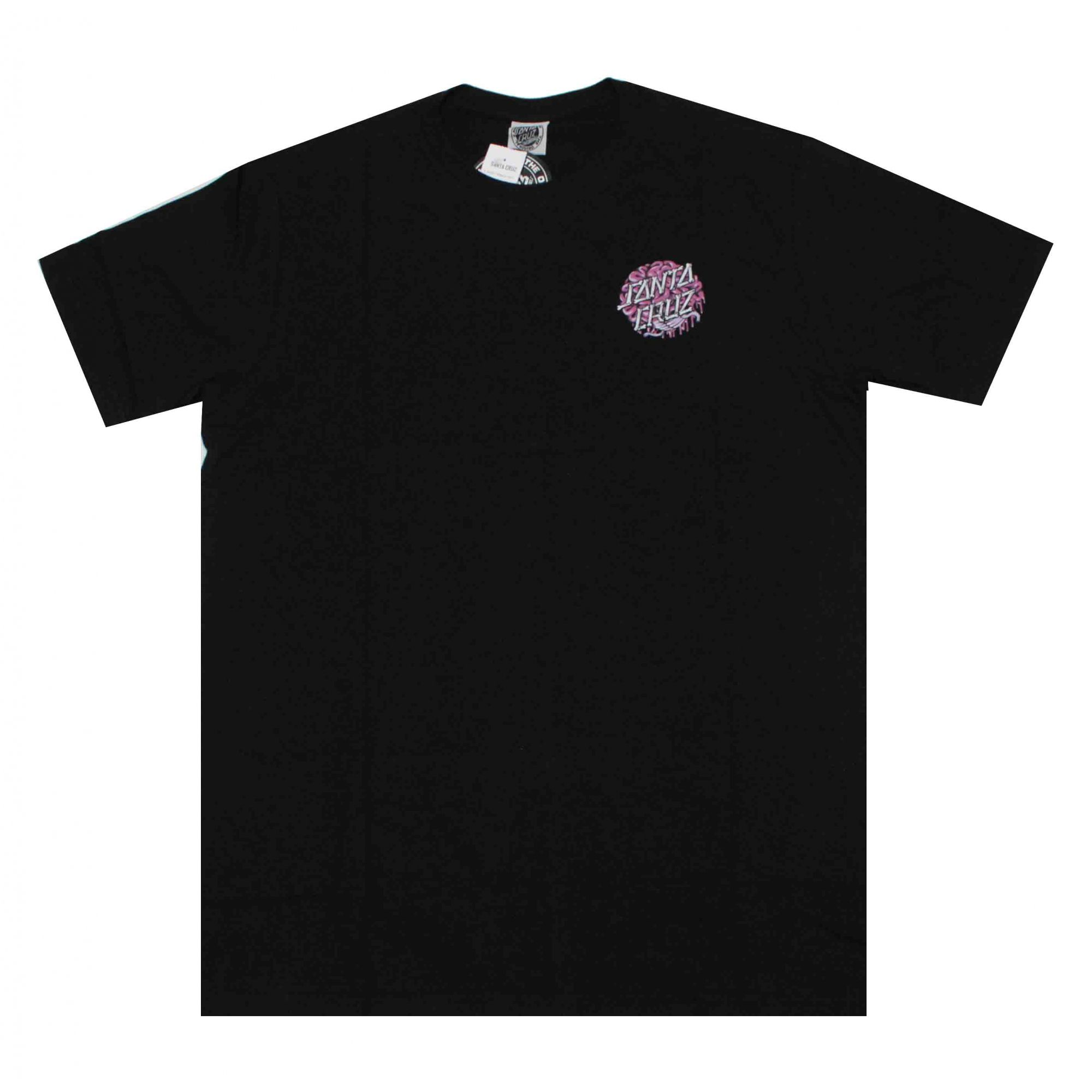 Camiseta Santa Cruz Brain Dot Black