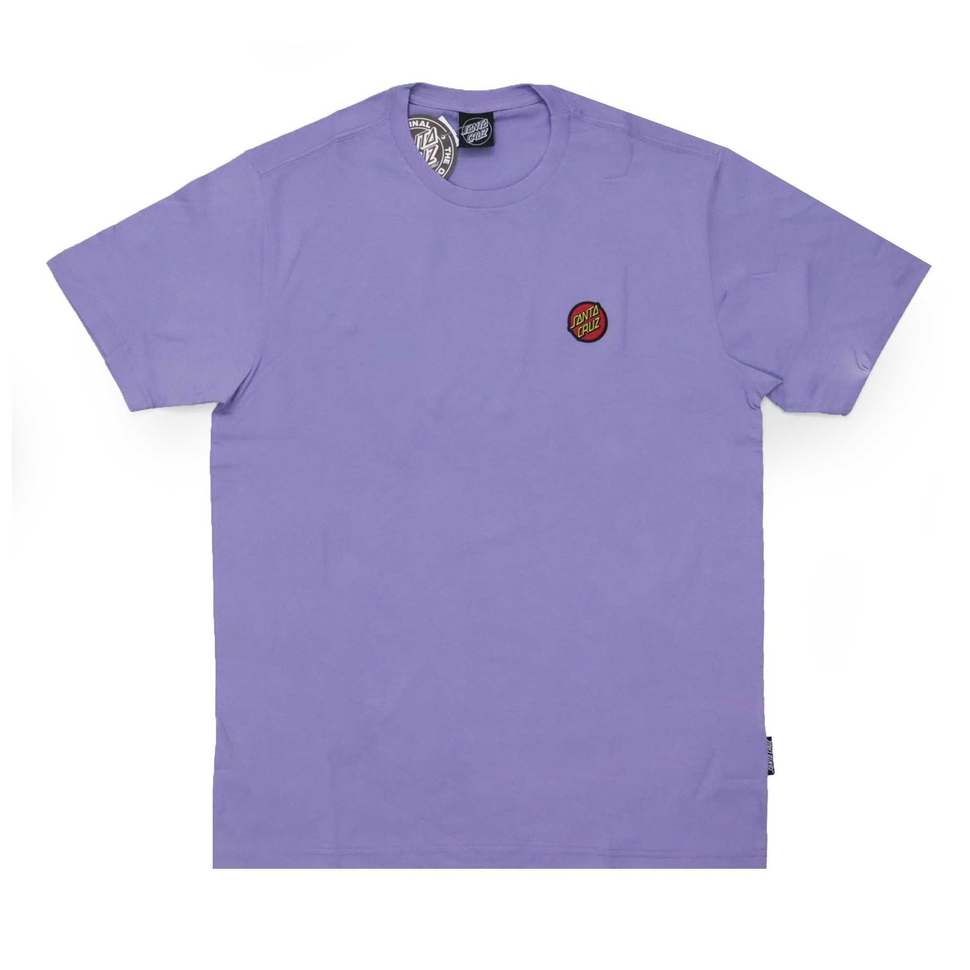 Camiseta Santa Cruz Classic Dot Chest - Lilás