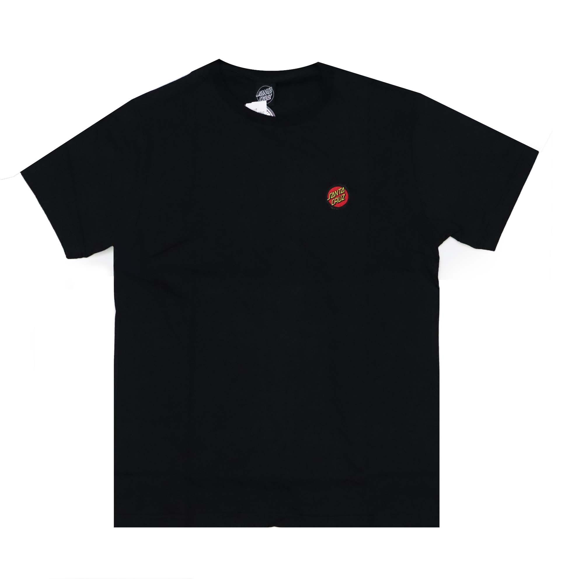 Camiseta Santa Cruz Classic Dot Chest - Preto