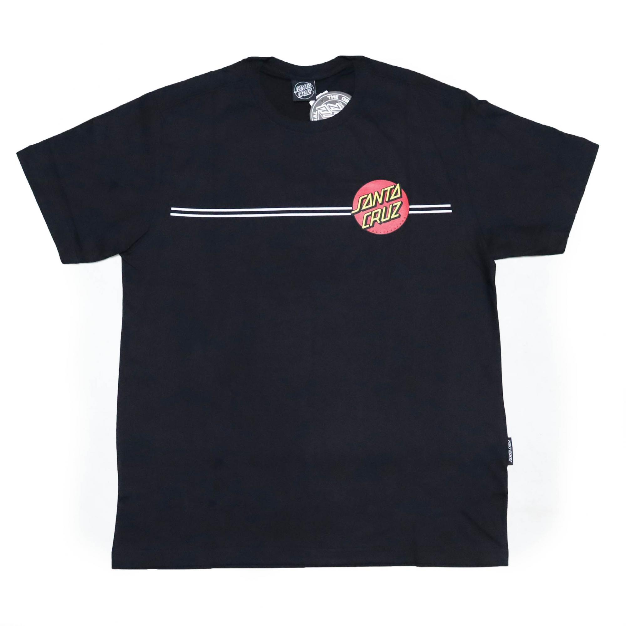 Camiseta Santa Cruz Classic Dot Line - Preto