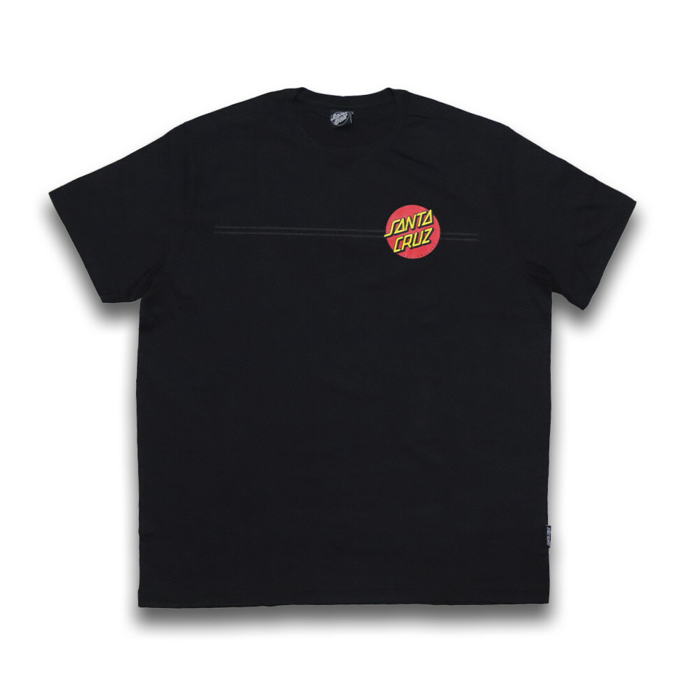 Camiseta Santa Cruz Classic Dot - Preto