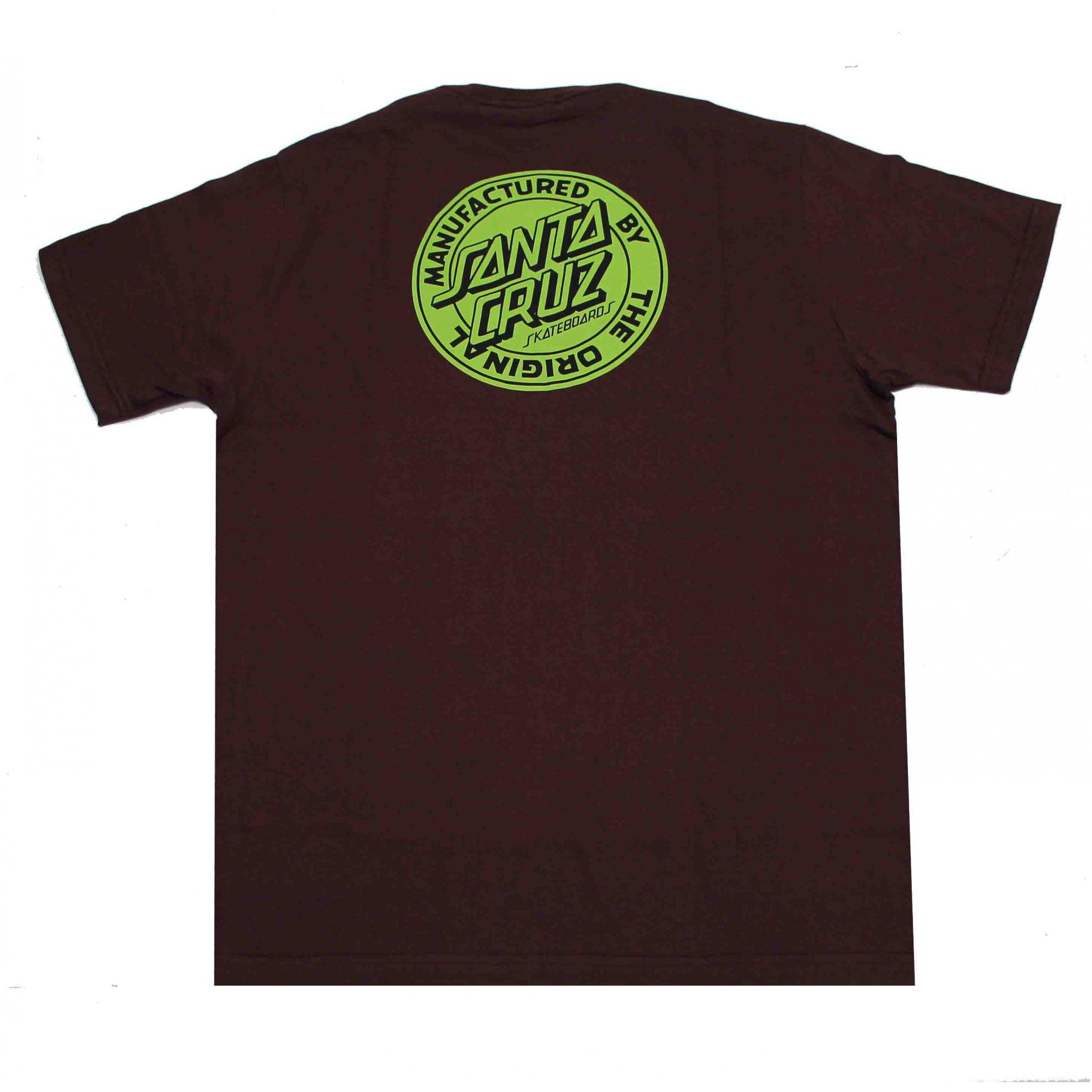 Camiseta Santa Cruz Dot Fill Wine