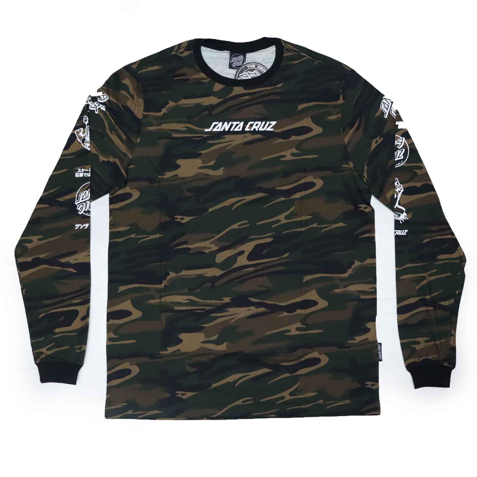 Camiseta Santa Cruz Especial Mixed Up - Camuflado Verde