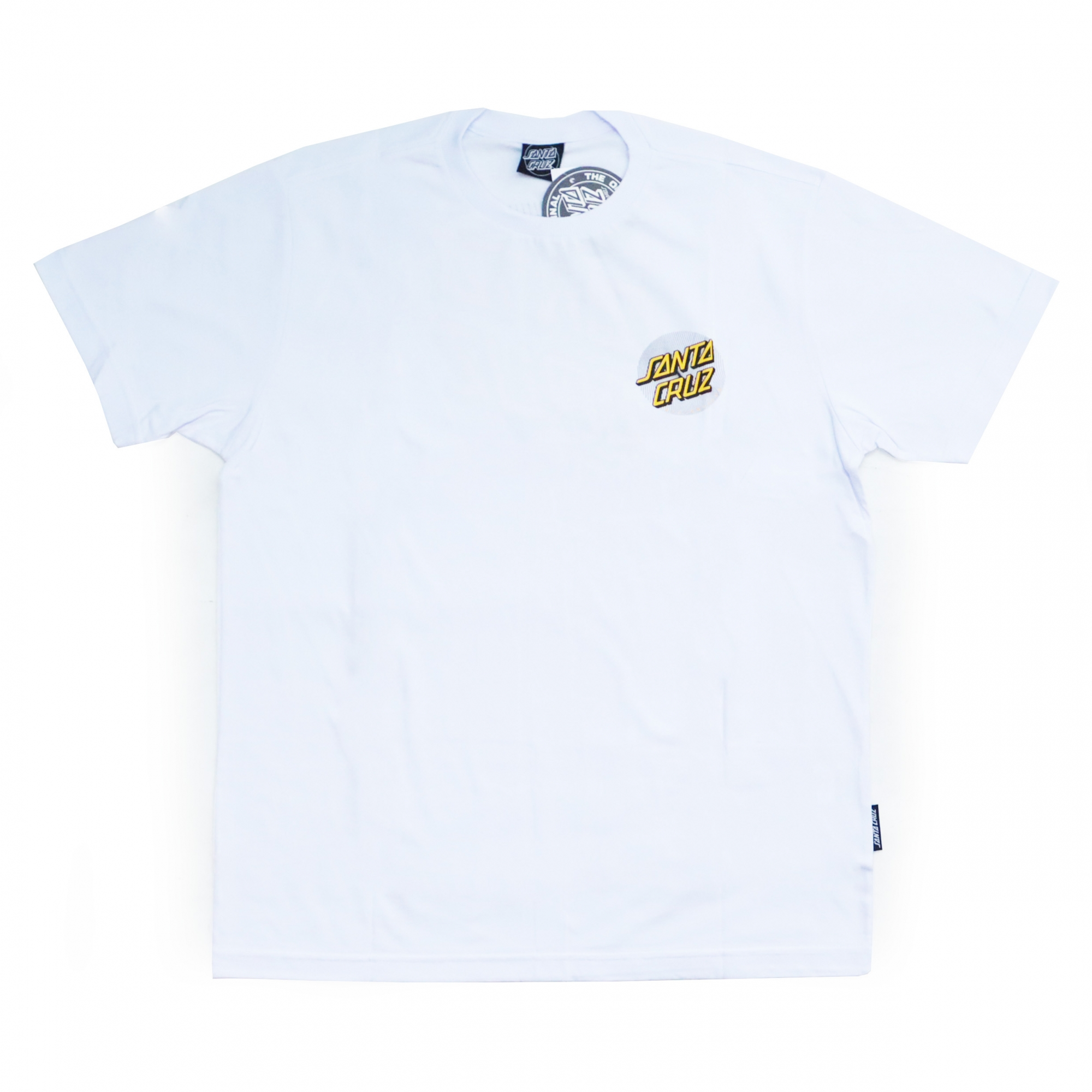 Camiseta Santa Cruz Flex Dot - Branco