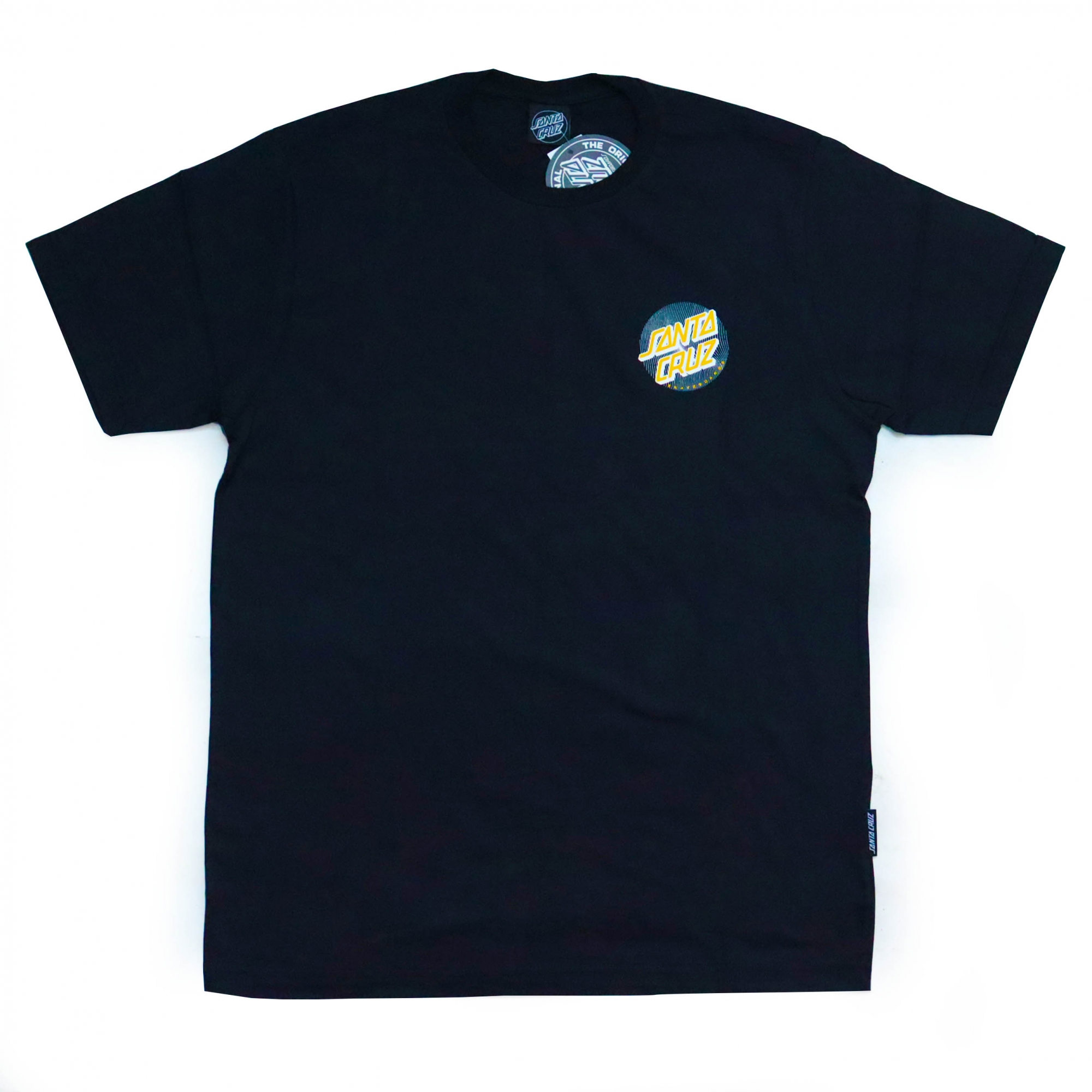 Camiseta Santa Cruz Flex Dot - Preto