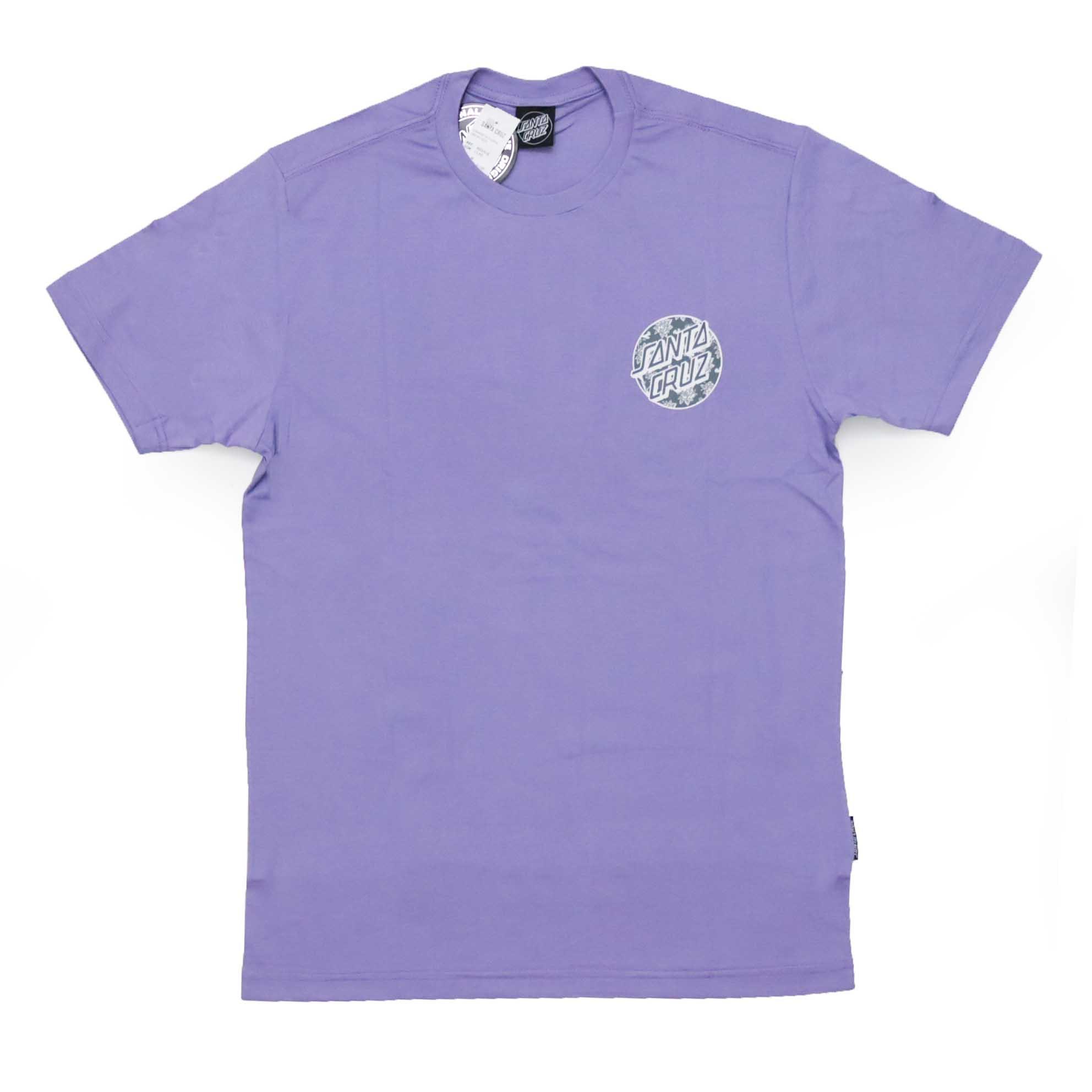 Camiseta Santa Cruz Floral Decay Dot - Lilás