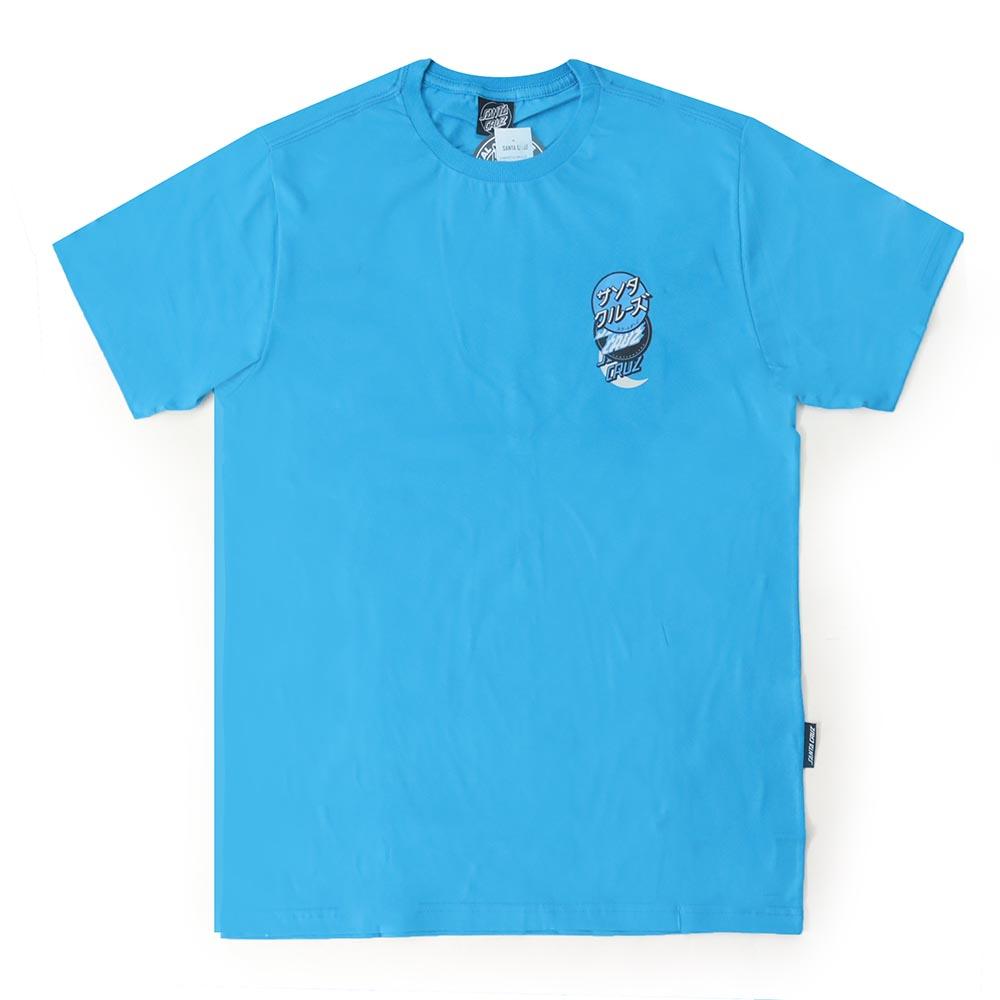 Camiseta Santa Cruz Group Dot - Azul