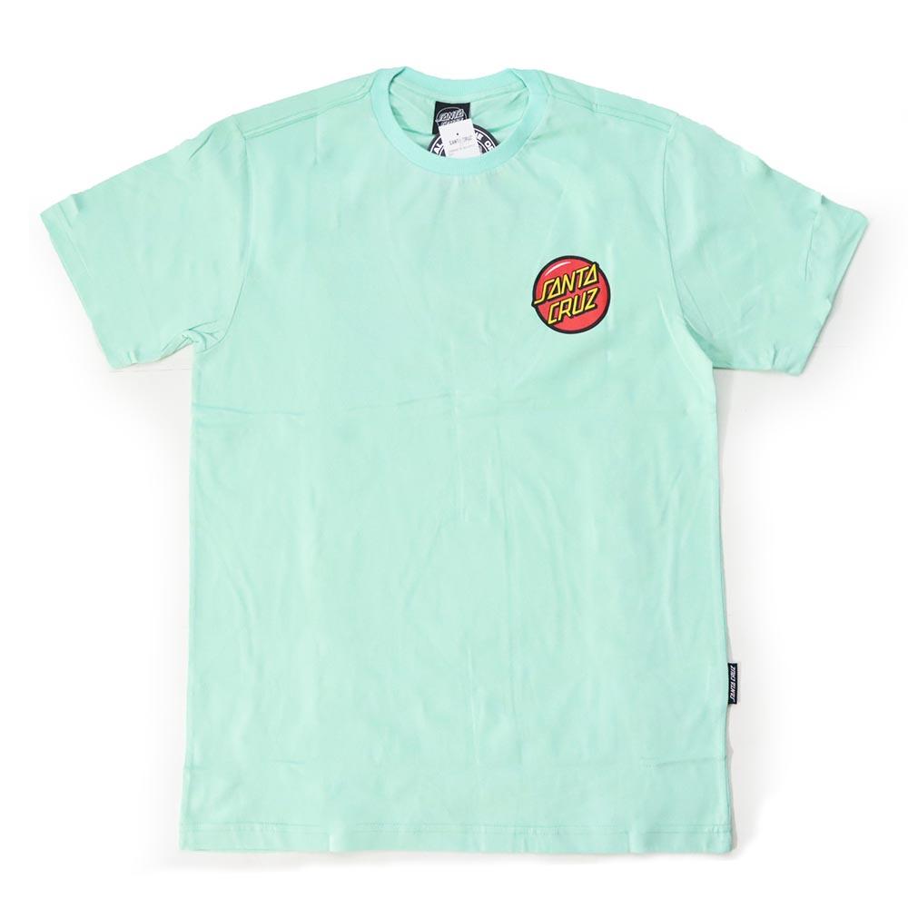 Camiseta Santa Cruz Jackpot Dot - Azul Turquesa