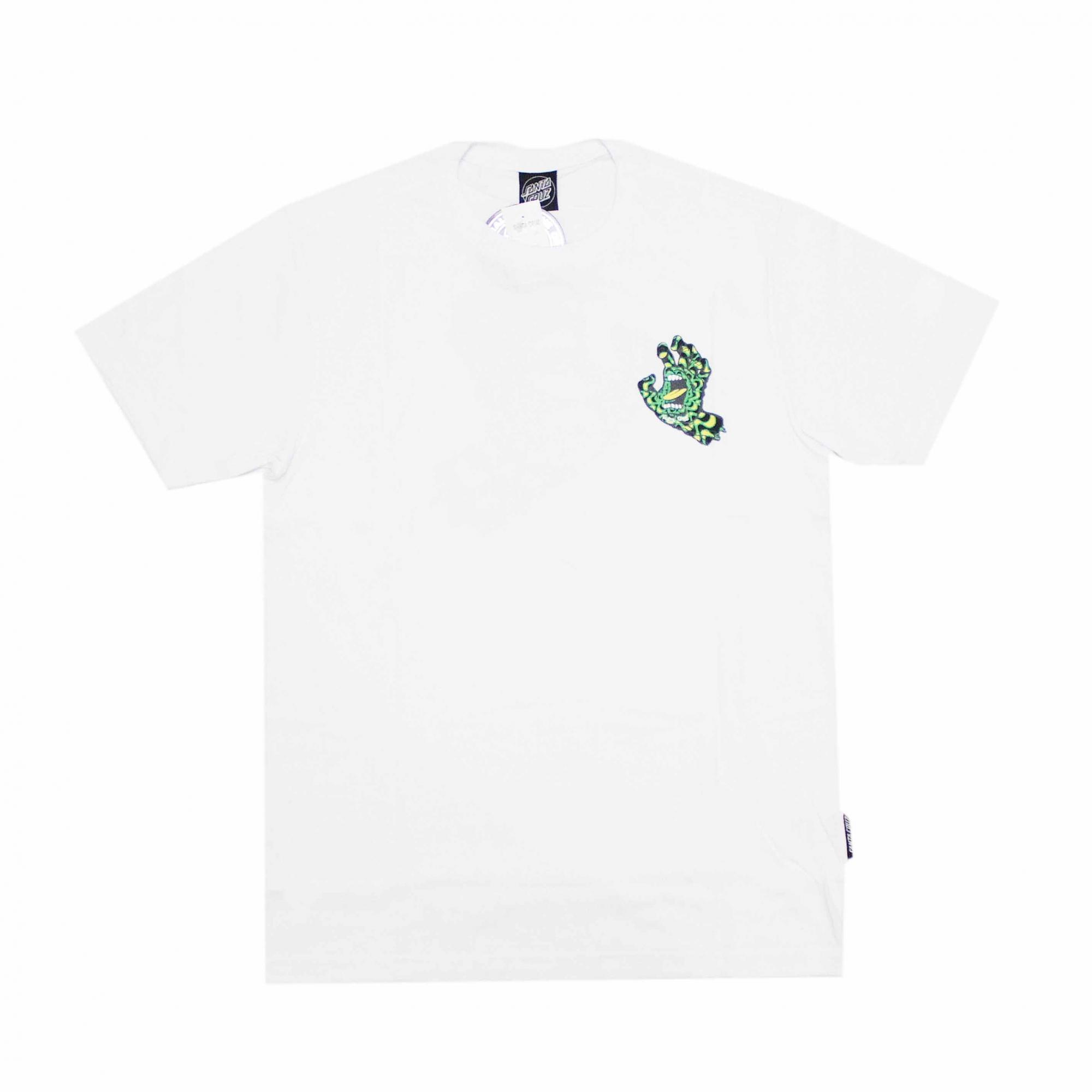 Camiseta Santa Cruz Kaleido Hand - Branco