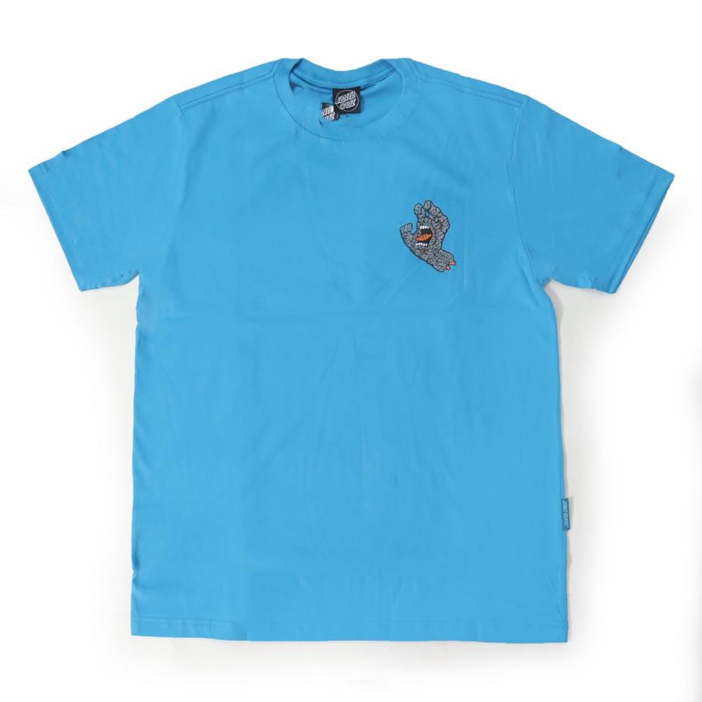 Camiseta Santa Cruz Letter Hand - Azul