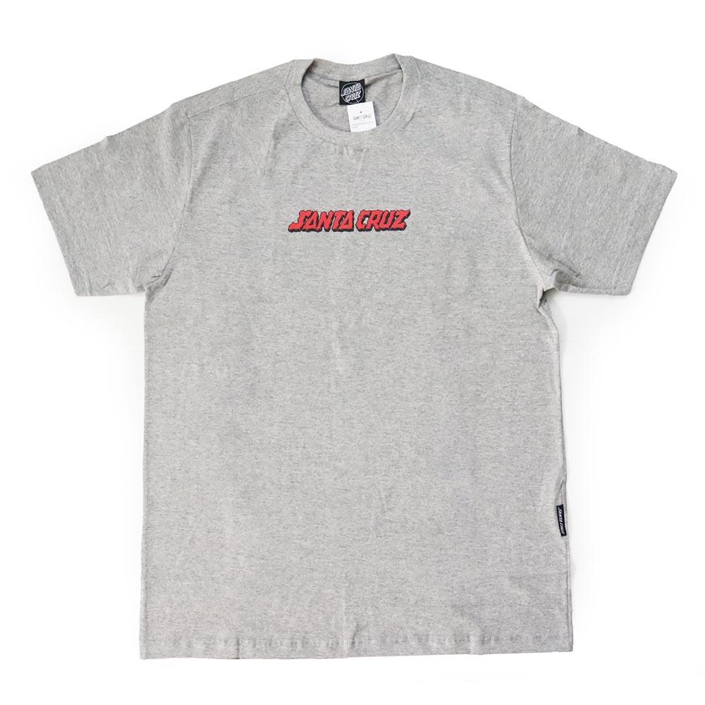 Camiseta Santa Cruz Mandala Hand - Cinza Mescla