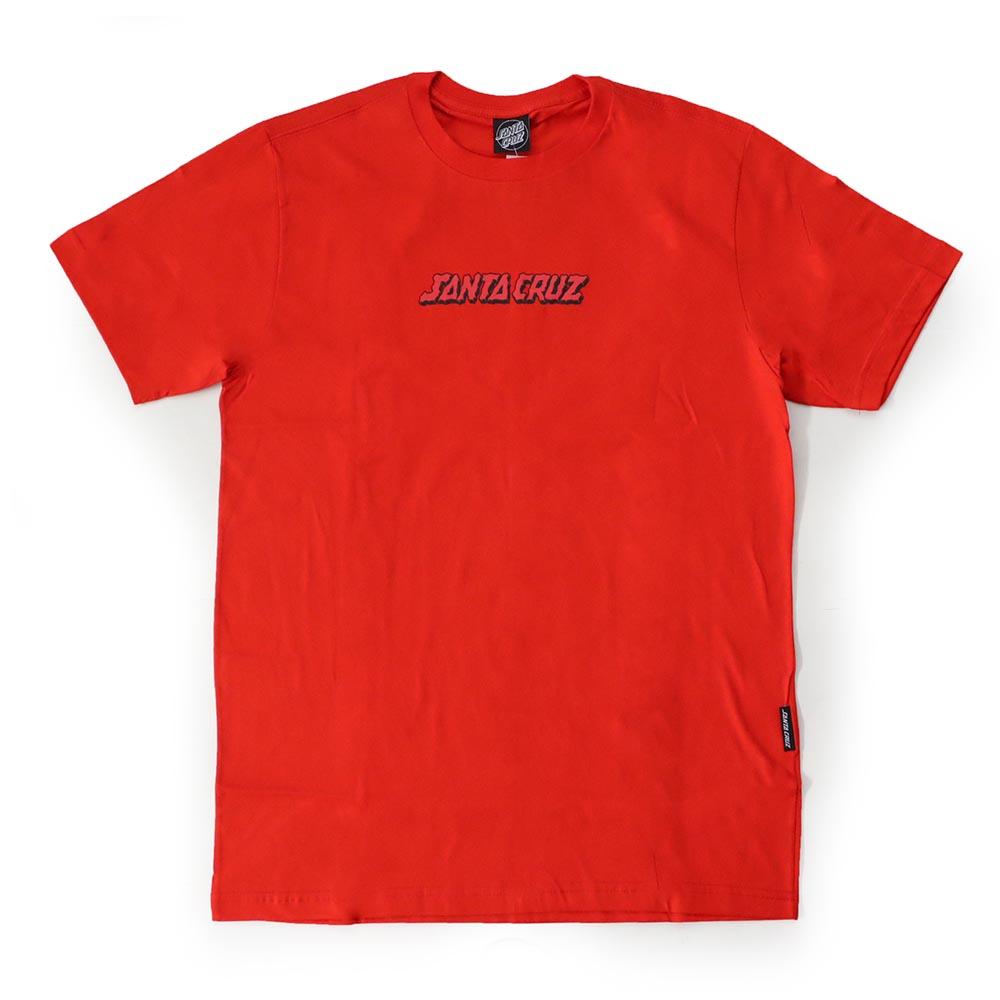 Camiseta Santa Cruz Mandala Hand - Vermelho