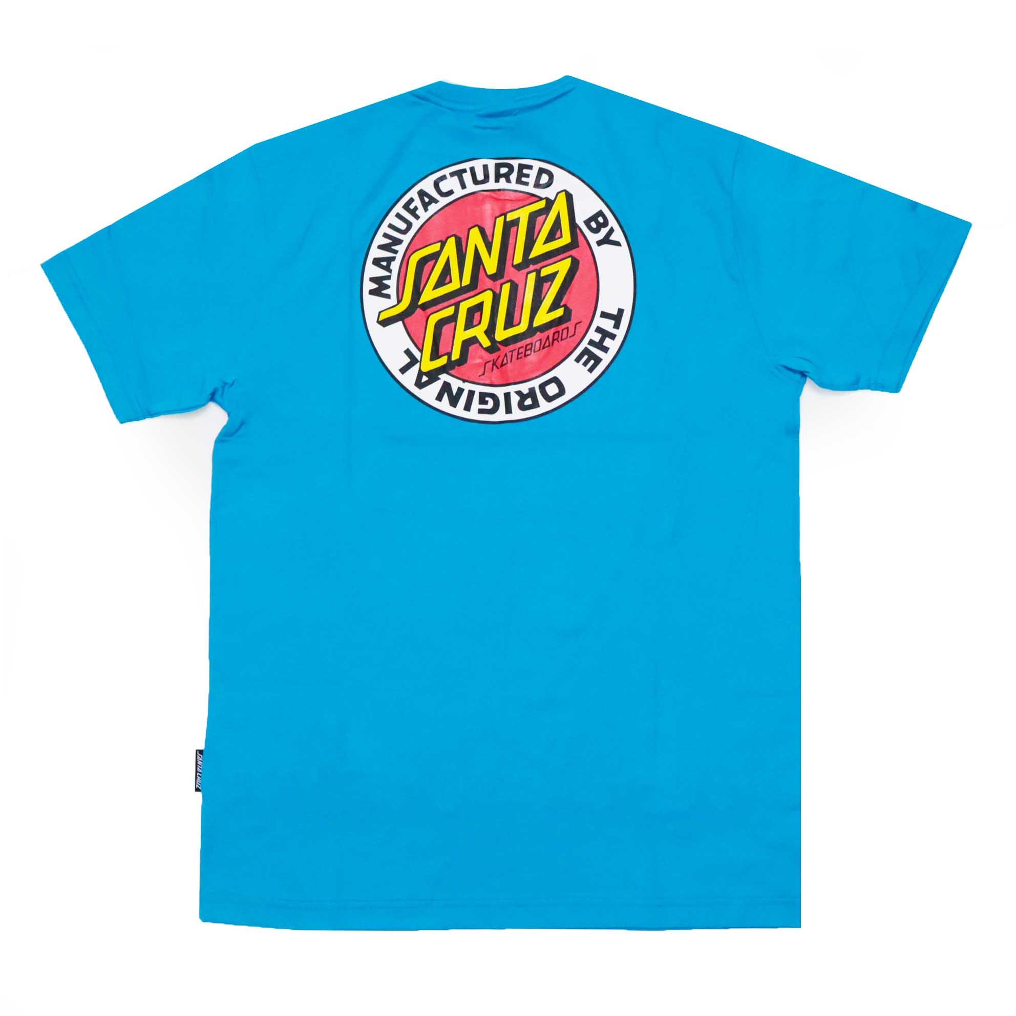 Camiseta Santa Cruz MFG Dot - Azul