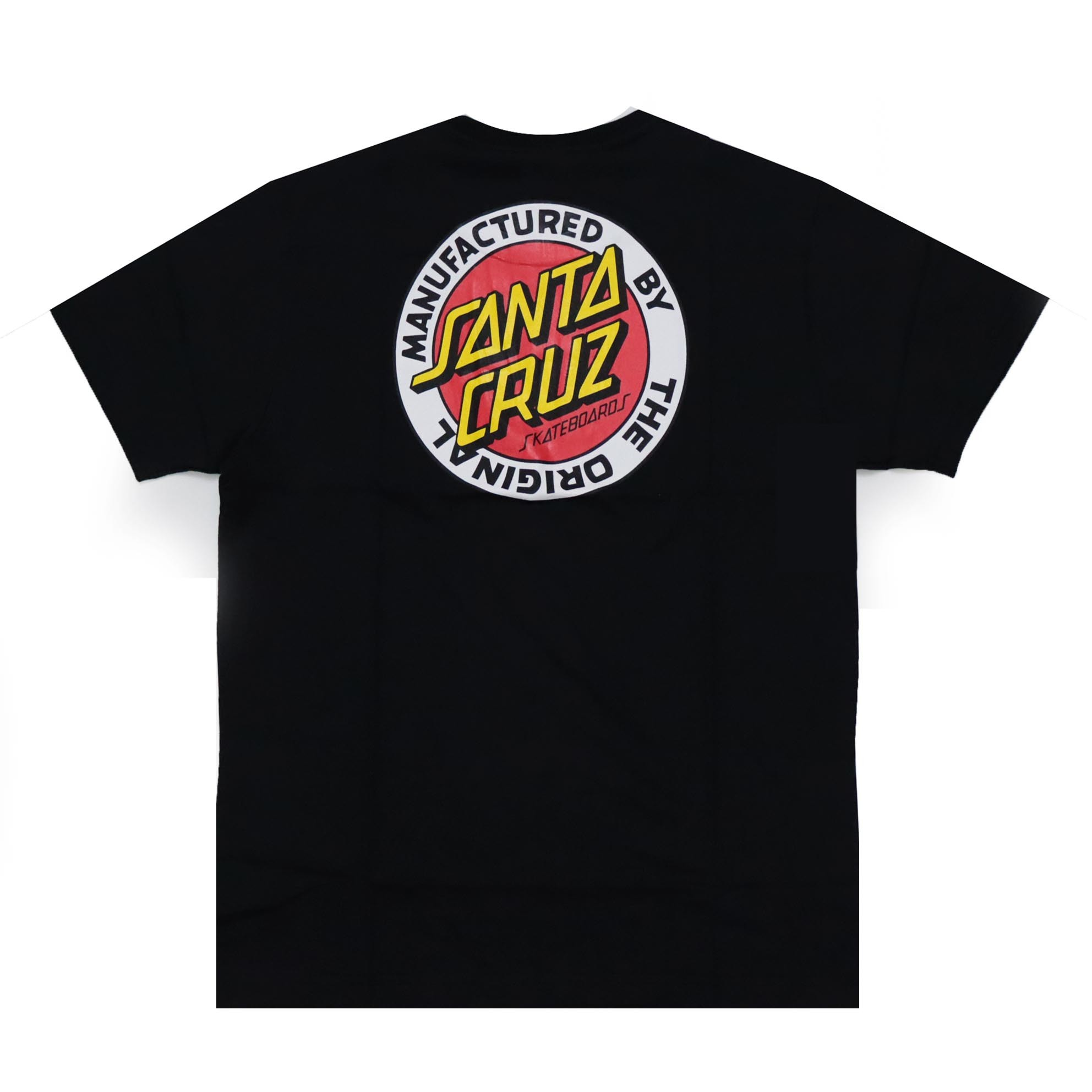 Camiseta Santa Cruz MFG Dot - Preto