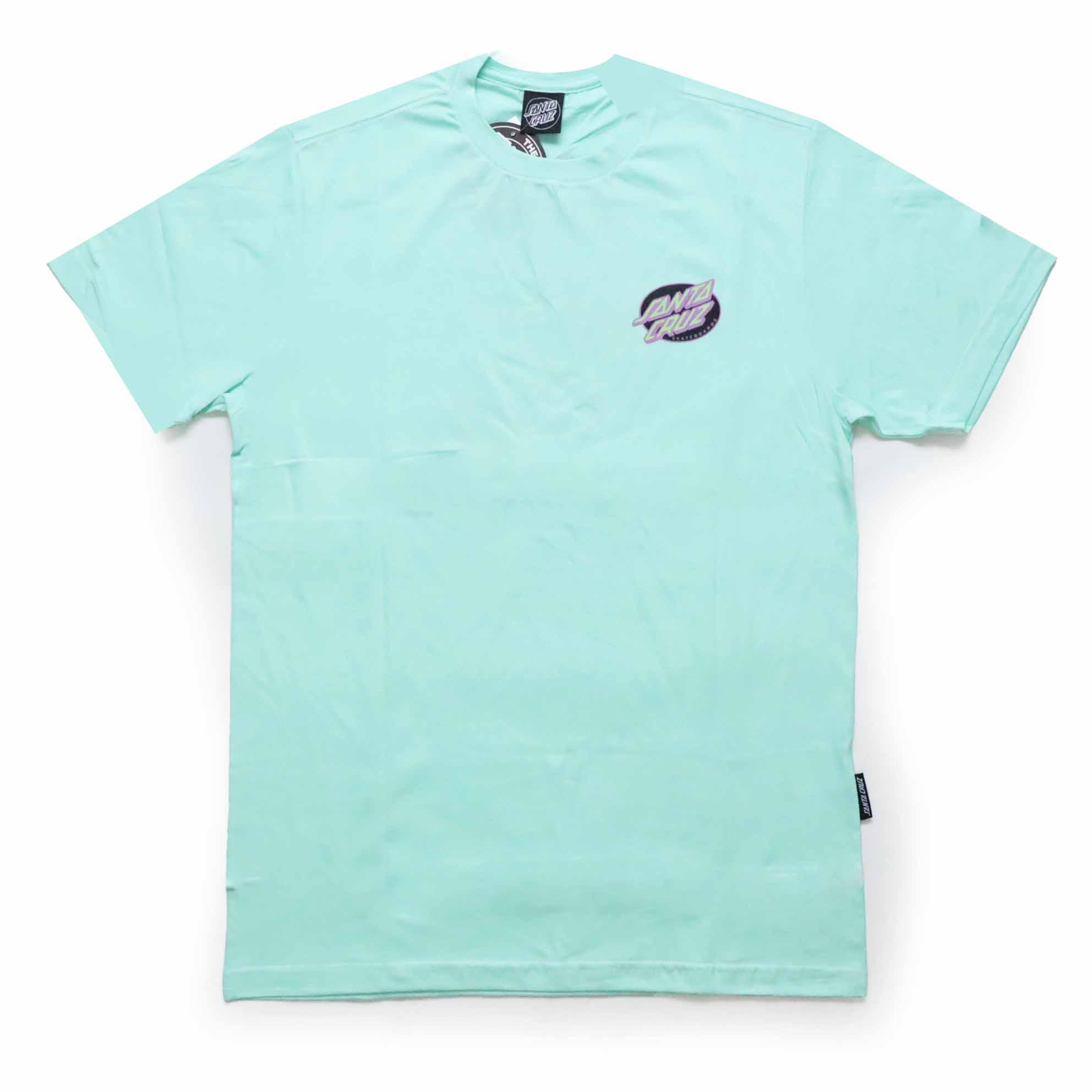 Camiseta Santa Cruz  Mummy Hand - Verde Água