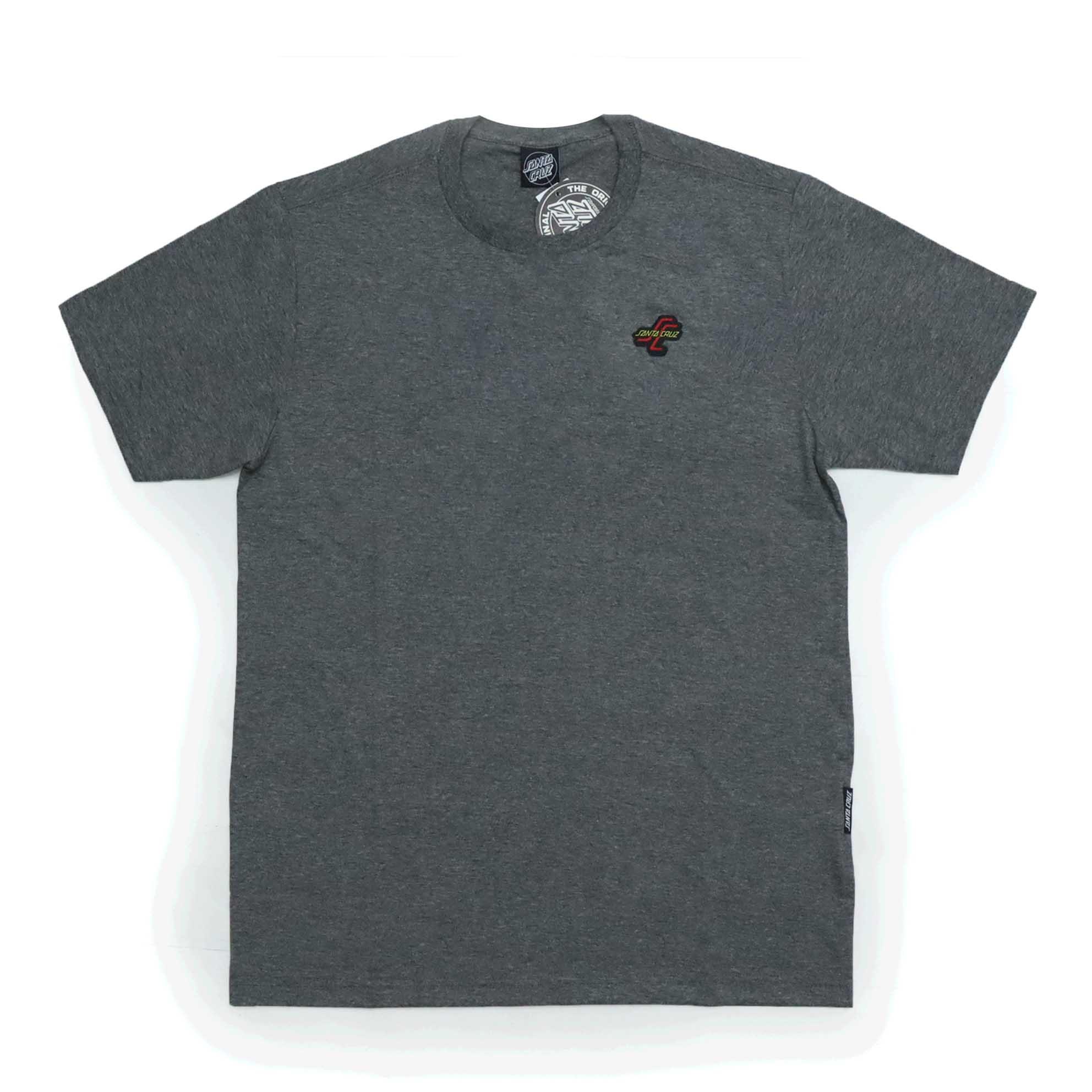 Camiseta Santa Cruz O.G.S.C Chest - Chumbo Mescla