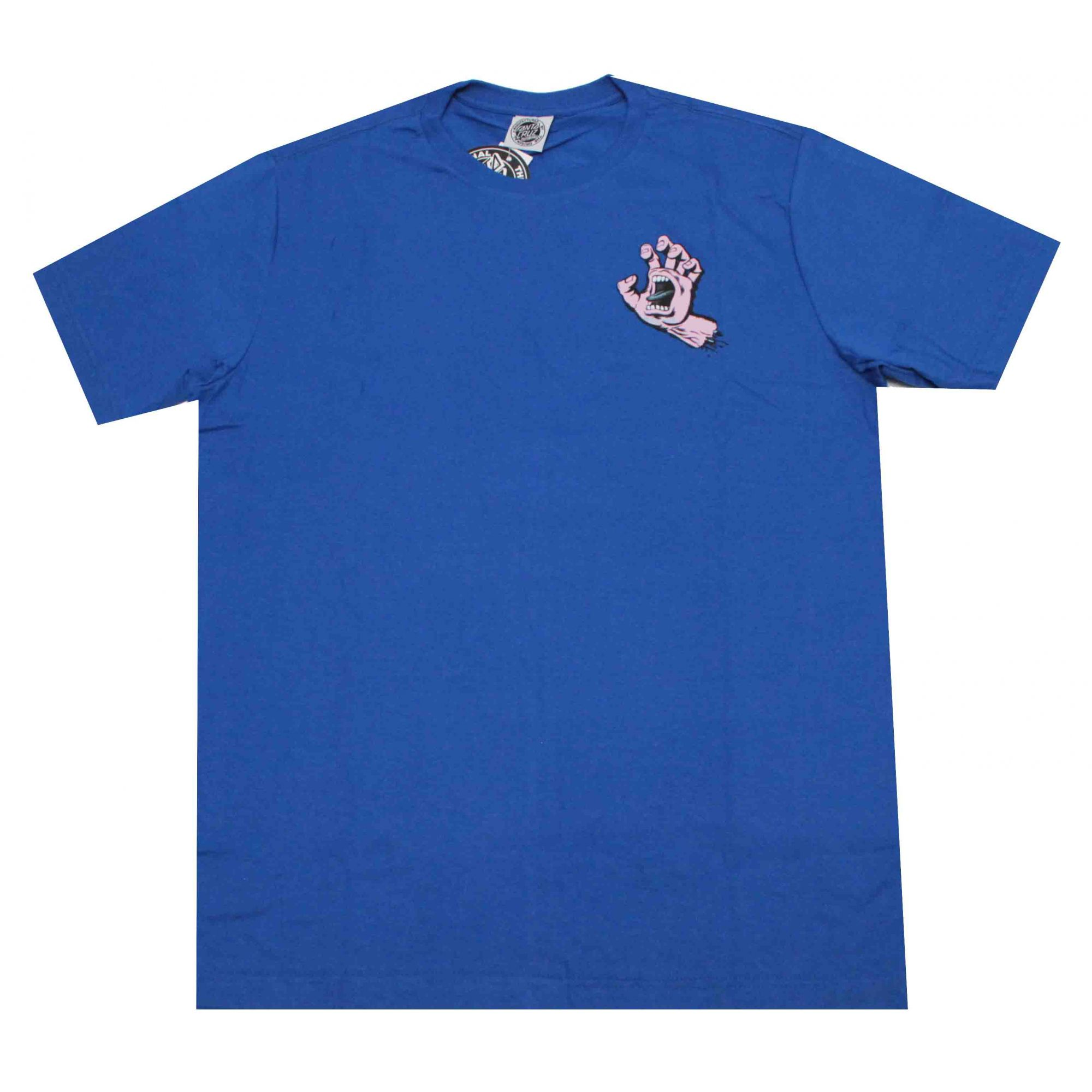 Camiseta Santa Cruz Pastel Screaming Hand Blue