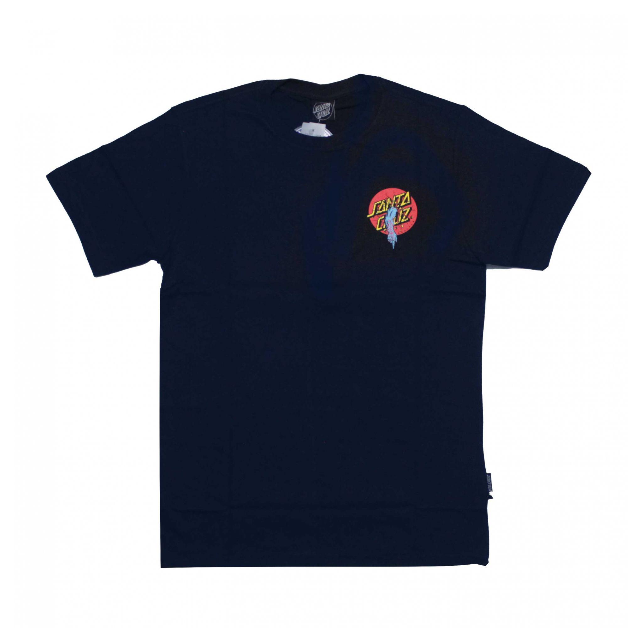 Camiseta Santa Cruz Rob Dot Azul Marinho
