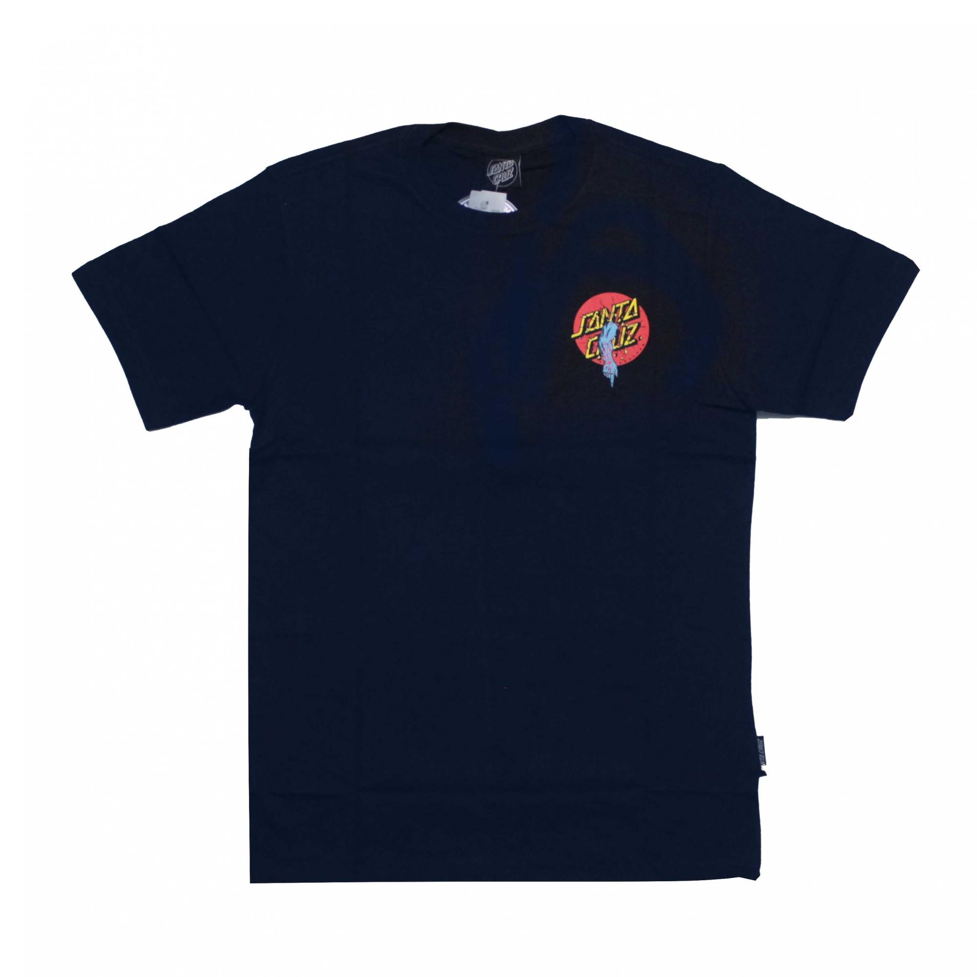 Camiseta Santa Cruz Rob Dot - Azul Marinho