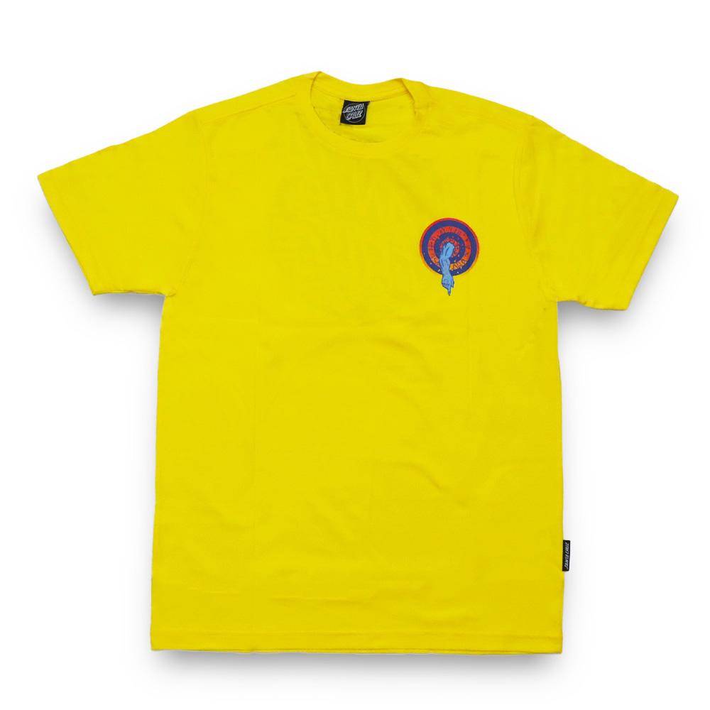 Camiseta Santa Cruz Roskopp Dot - Amarelo