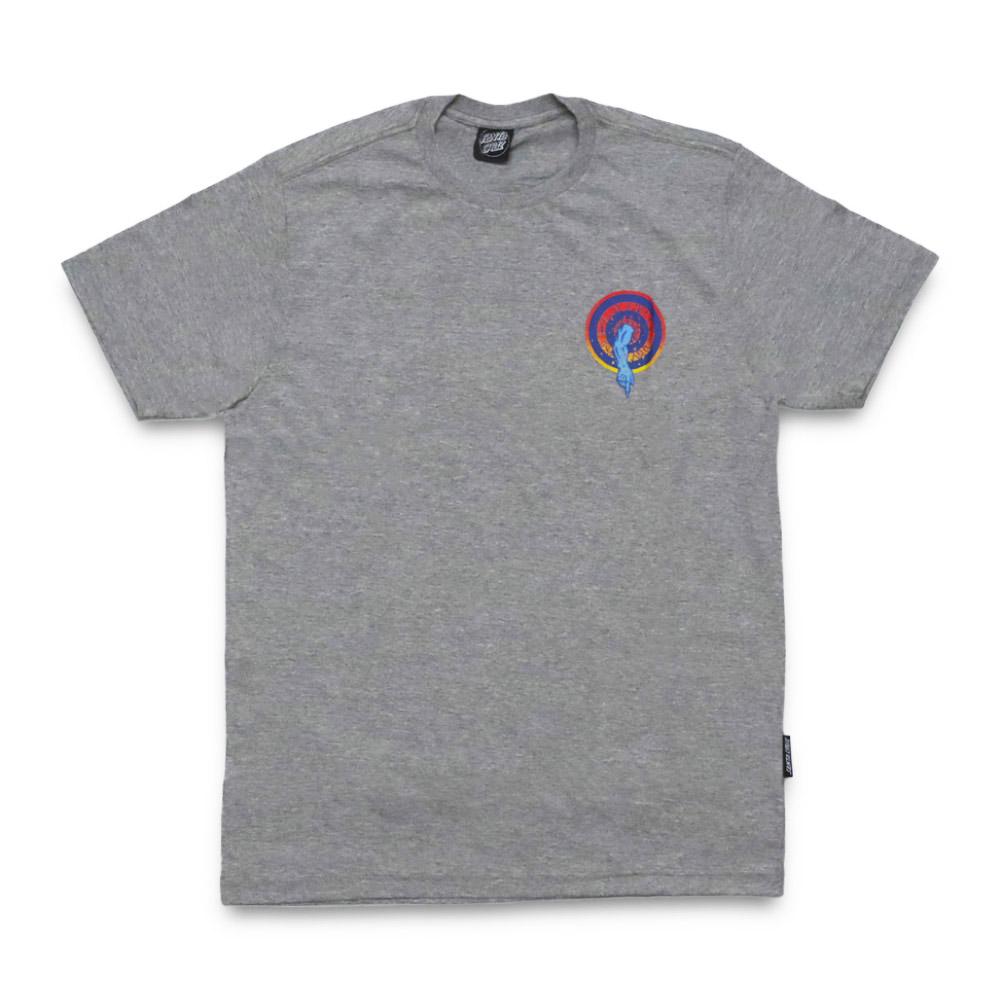 Camiseta Santa Cruz Roskopp Dot - Cinza Mescla