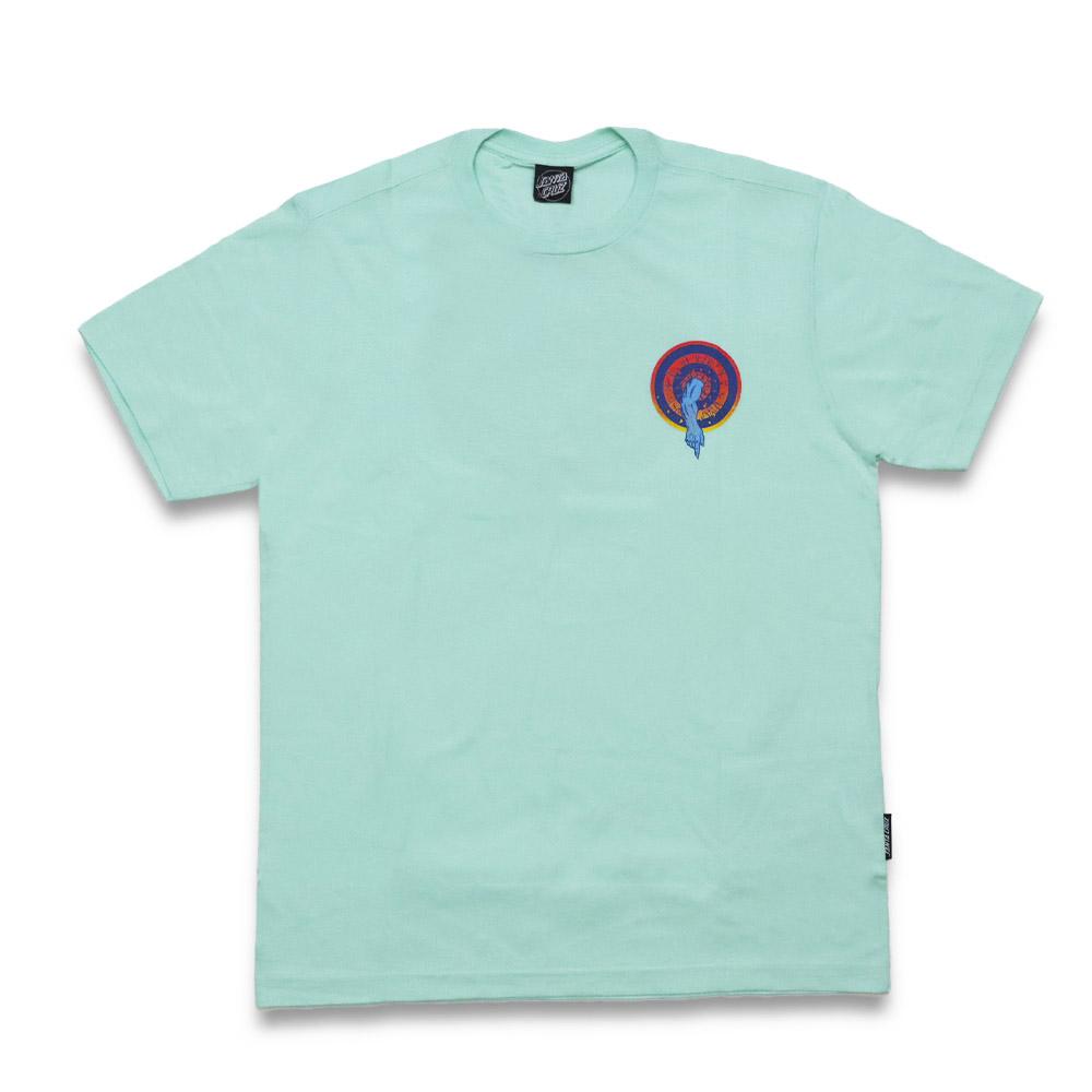 Camiseta Santa Cruz Roskopp Dot - Verde Água