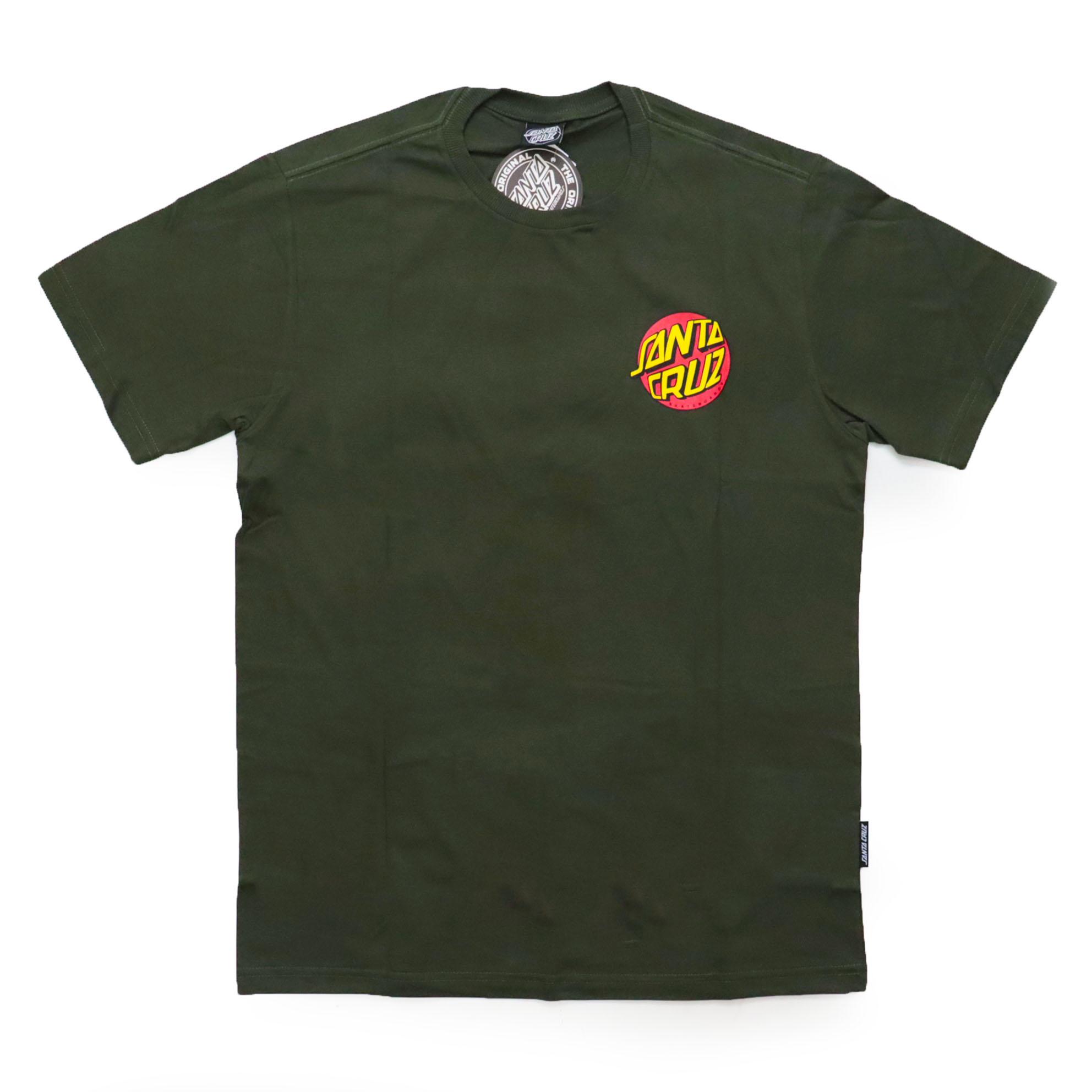 Camiseta Santa Cruz Salba Baby Stomber - Verde Militar