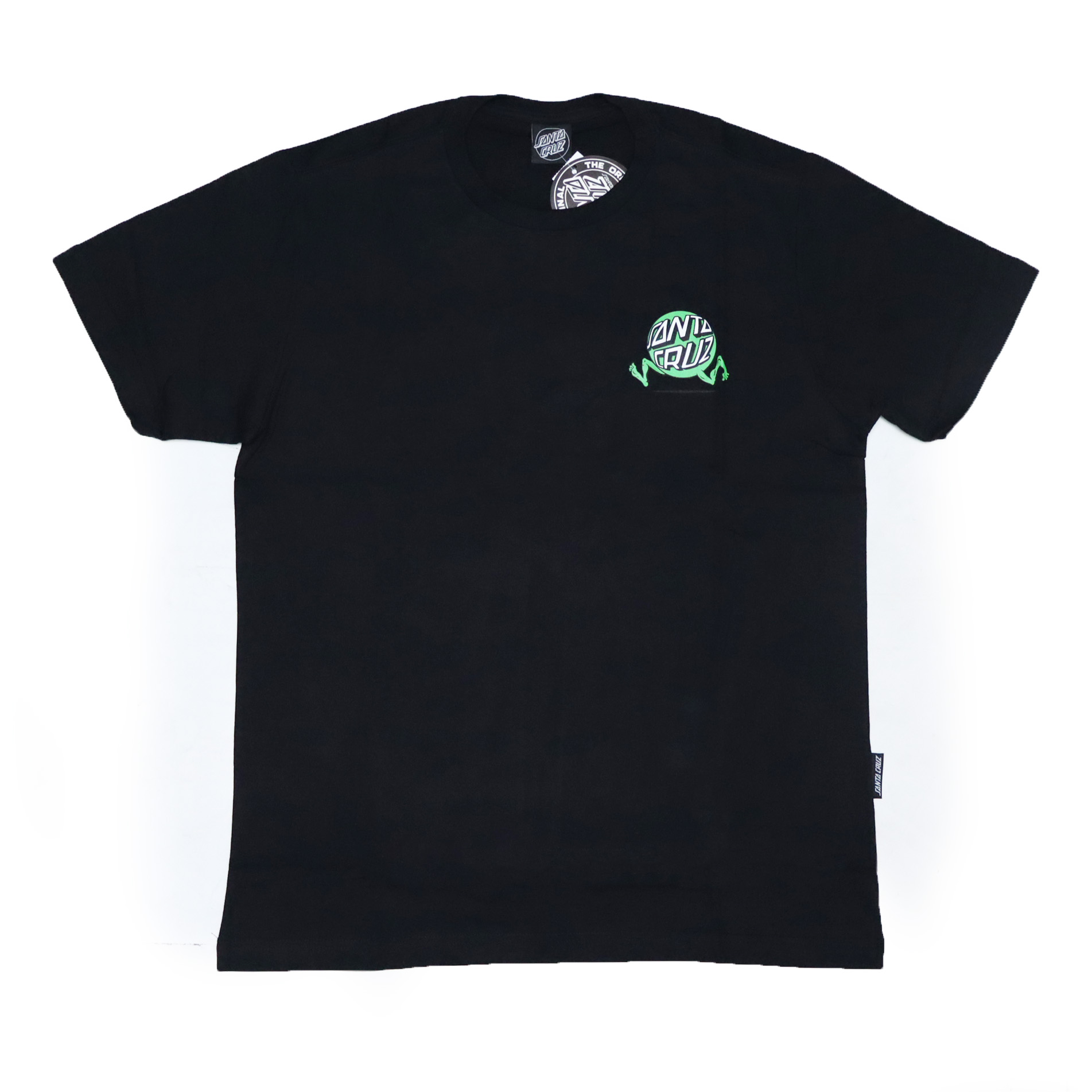 Camiseta Santa Cruz Screaming Fisheye Guy - Preto