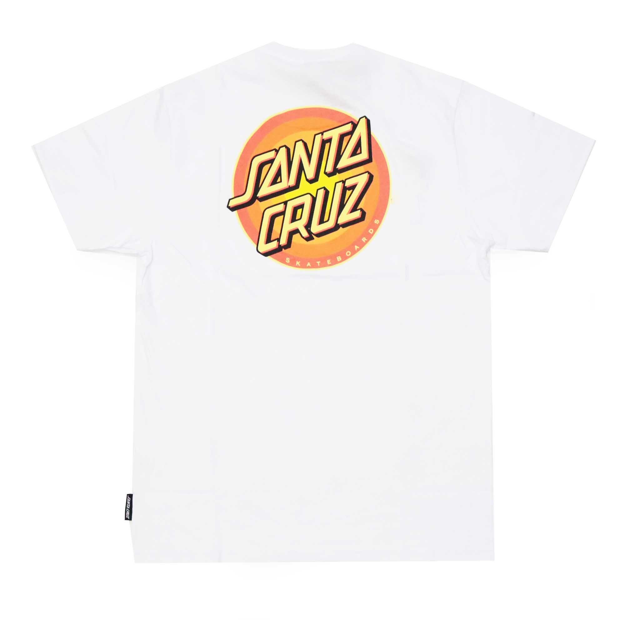 Camiseta Santa Cruz Screaming Gleam Dot - Branco
