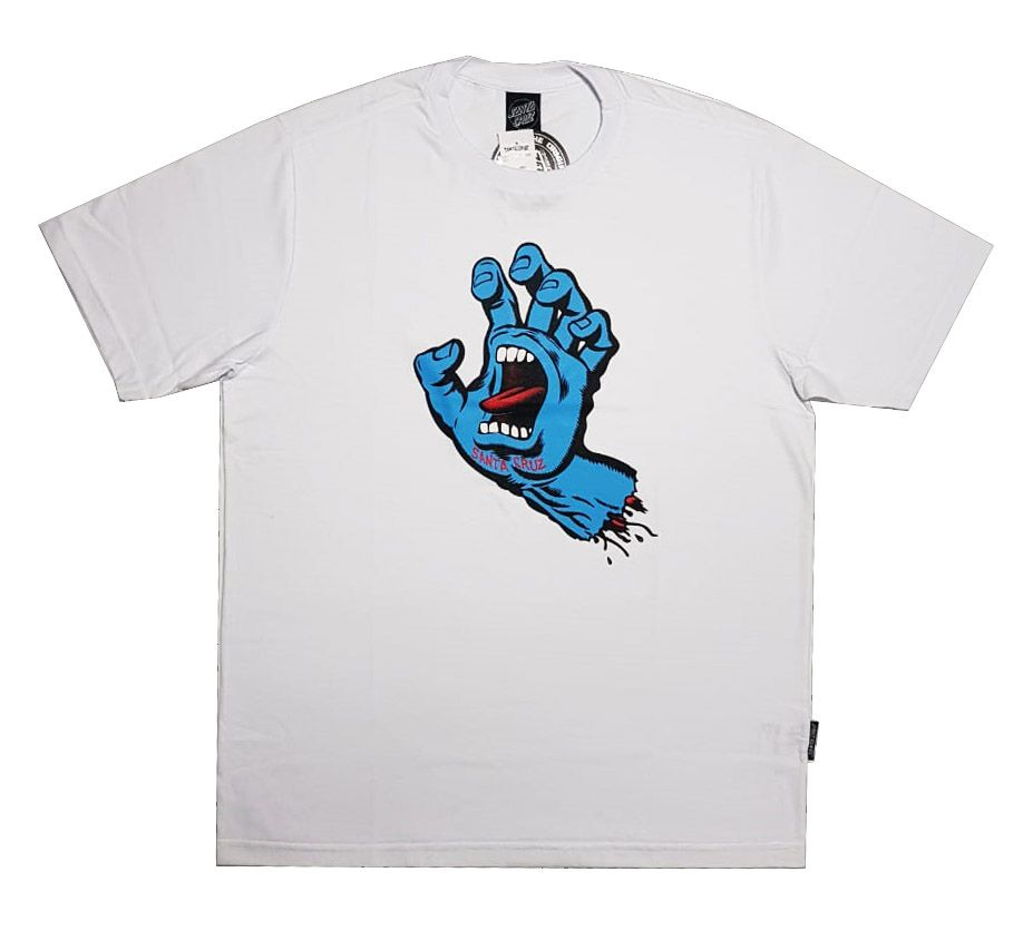 Camiseta Santa Cruz Screaming Hand White