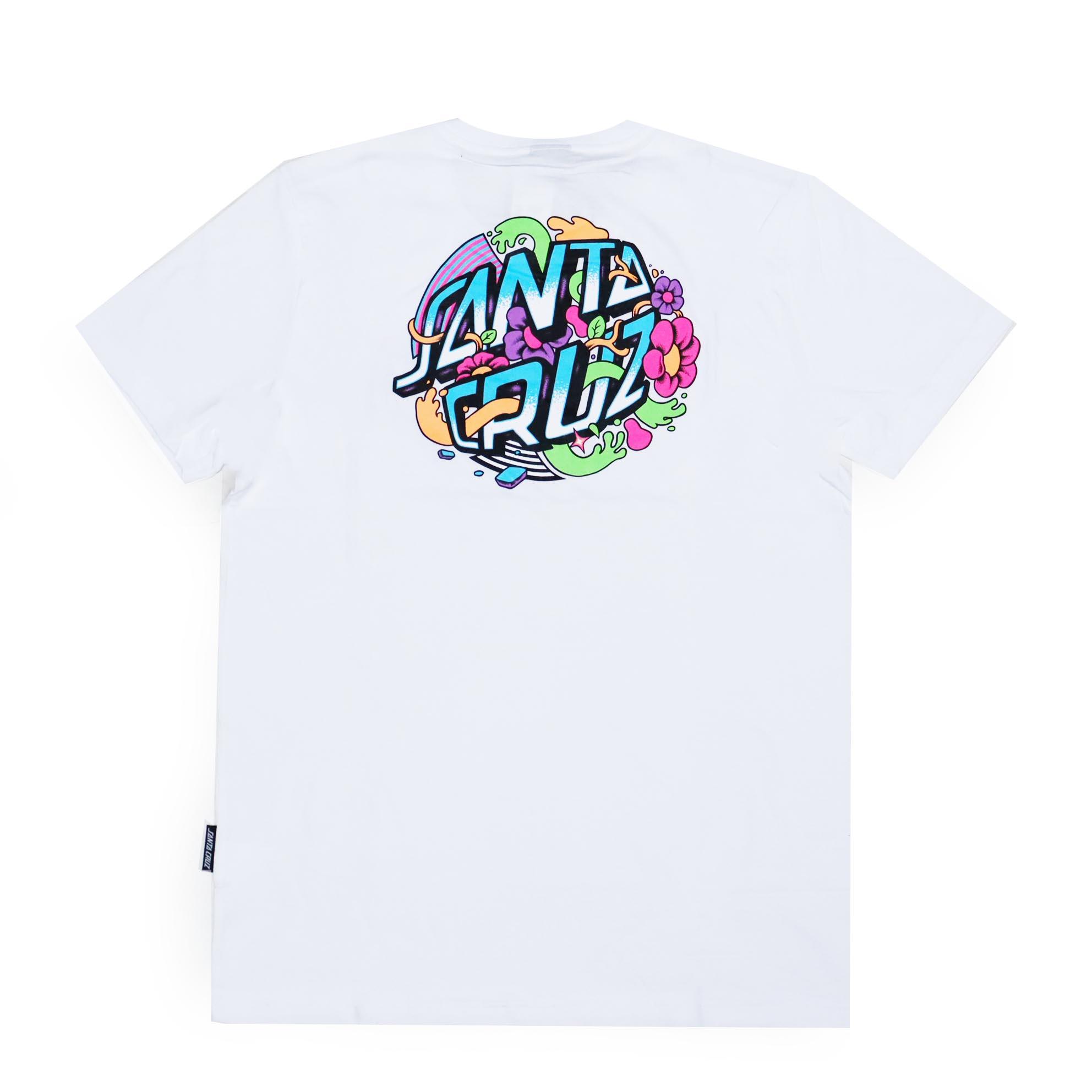 Camiseta Santa Cruz Strange Dot - Branco
