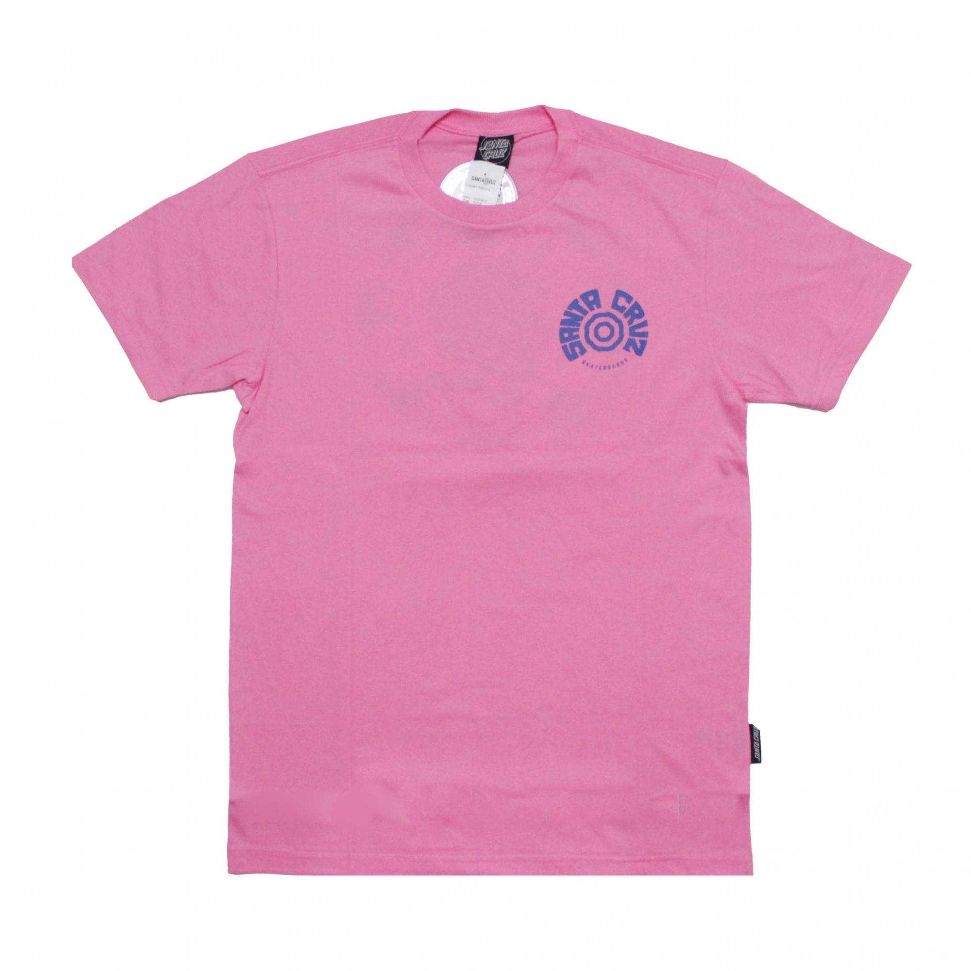 Camiseta Santa Cruz Tortile Rosa