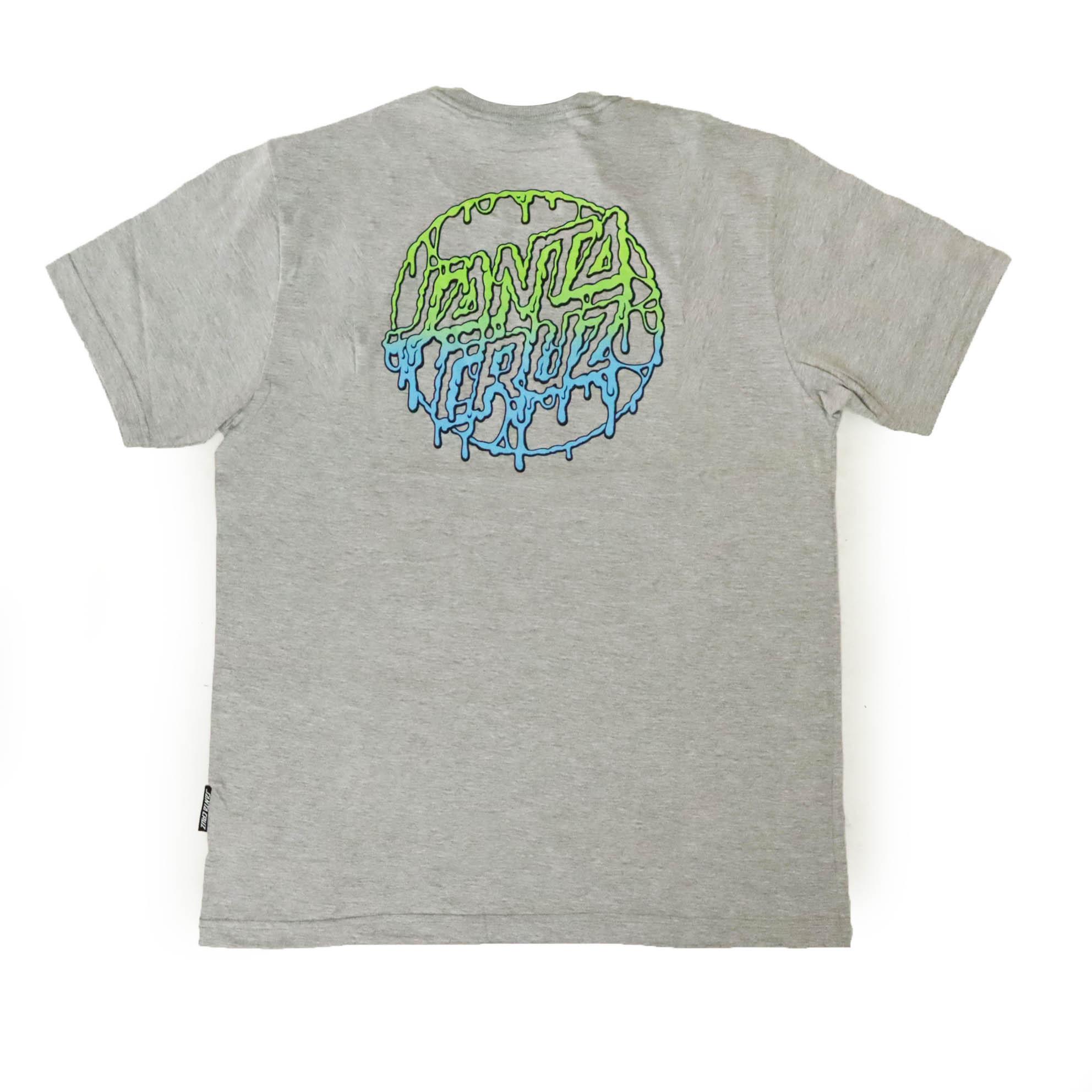 Camiseta Santa Cruz Toxic Dot - Cinza Mescla