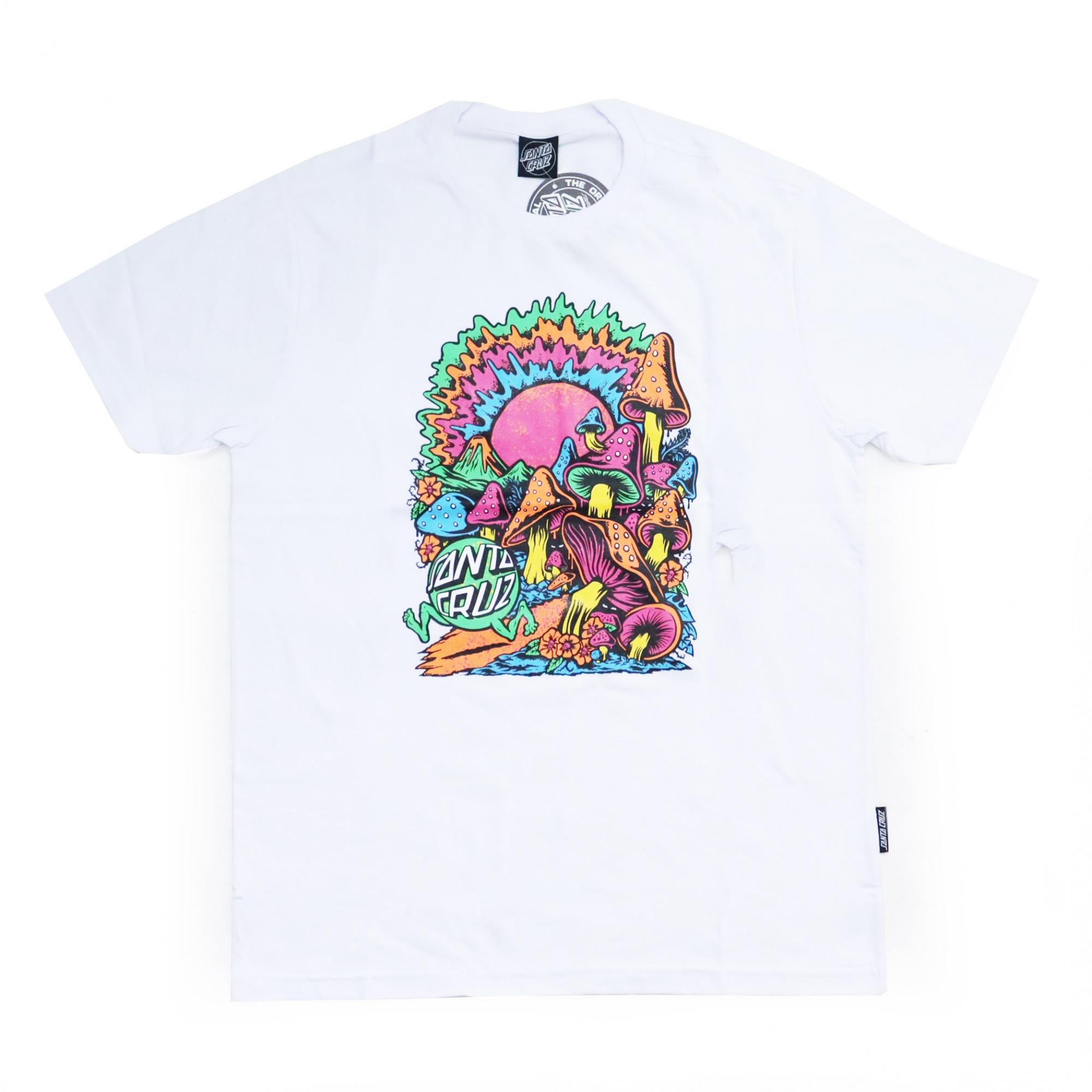 Camiseta Santa Cruz Toxic Wasteland - Branco