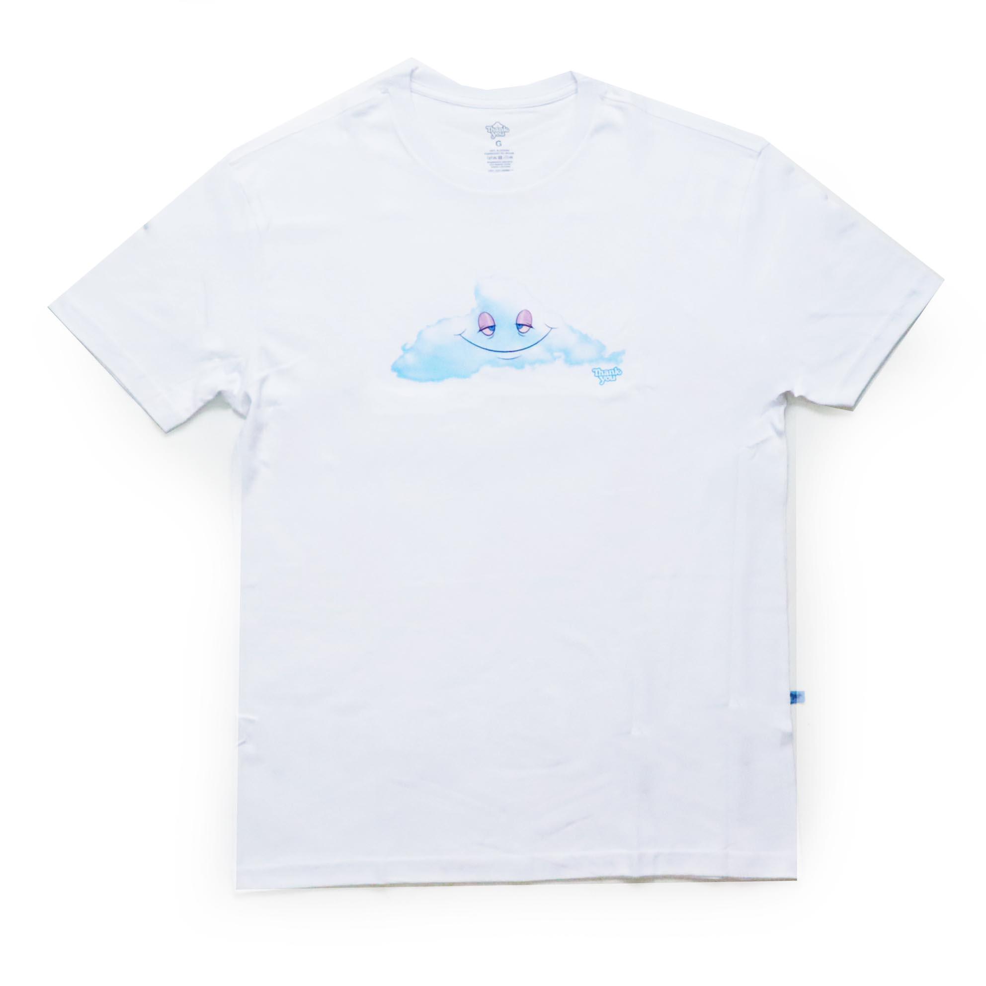 Camiseta Thank You Head In The Cloud - Branco