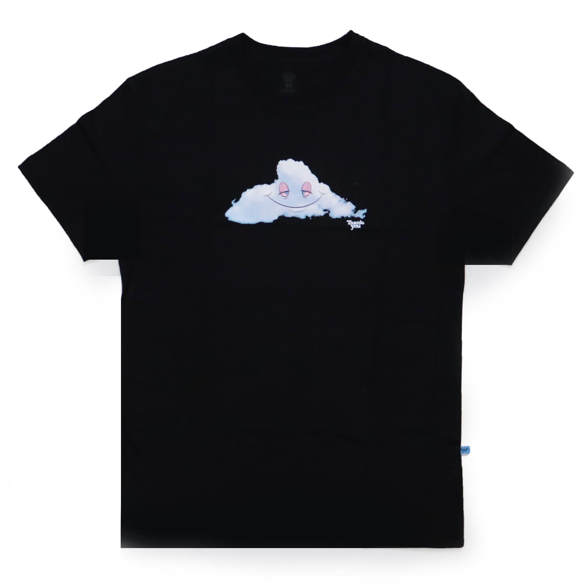Camiseta Thank You Head In The Cloud - Preto